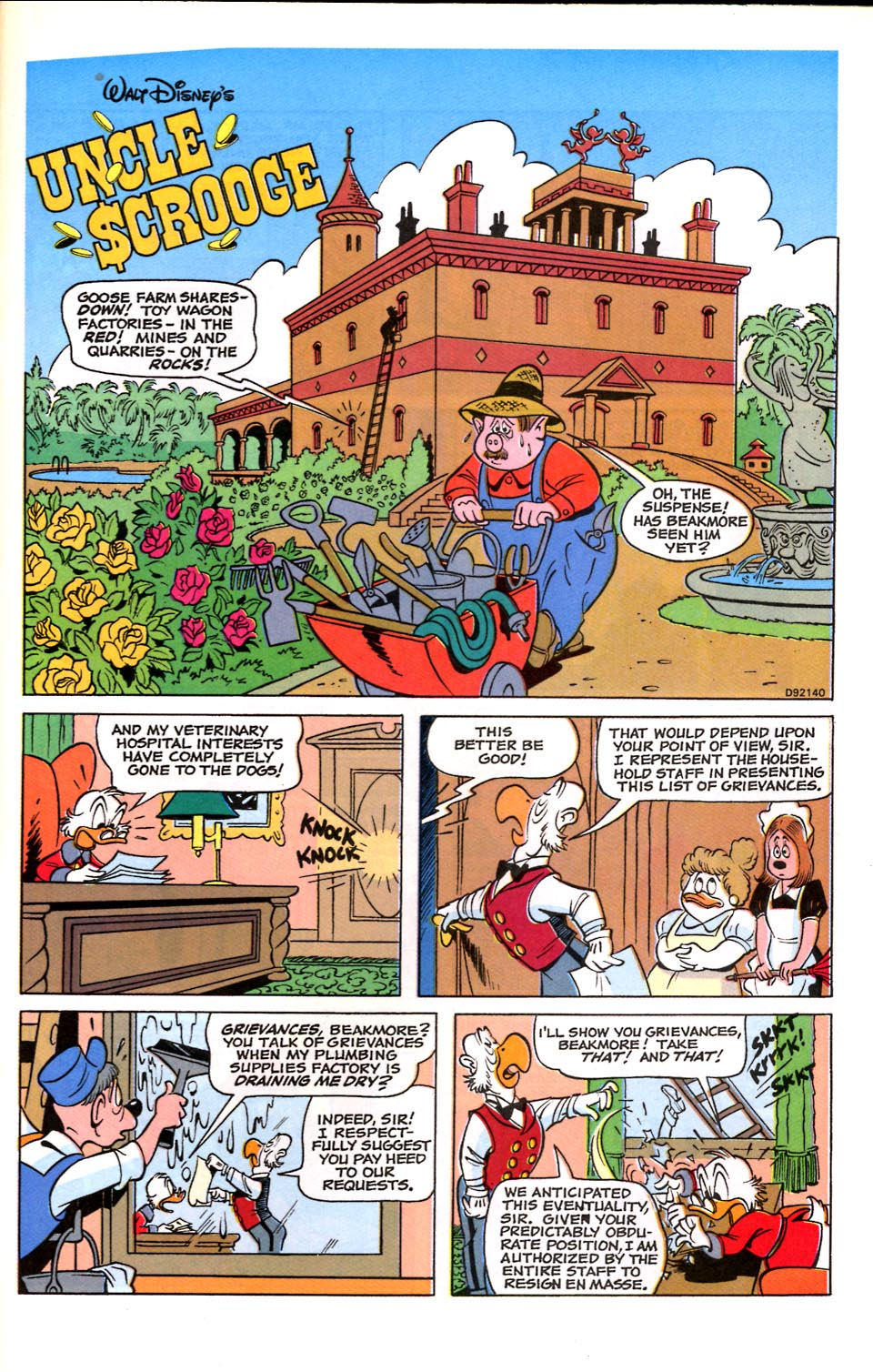 Read online Uncle Scrooge (1953) comic -  Issue #284 - 17