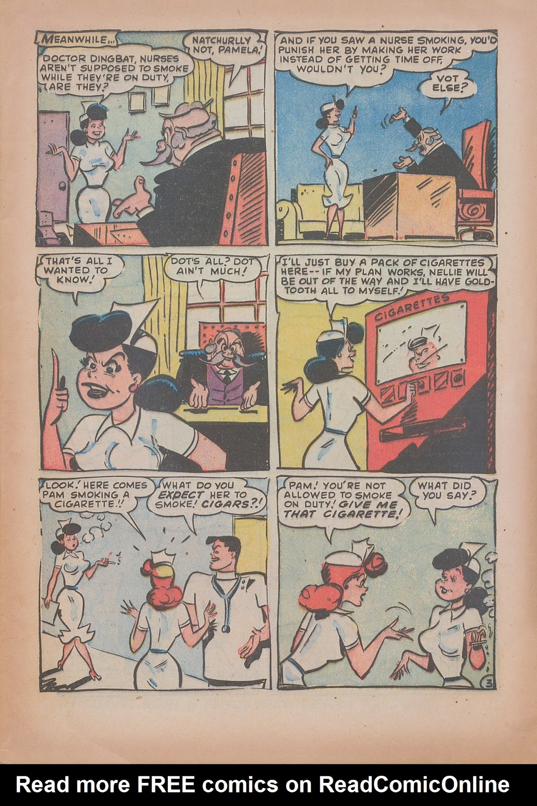 Read online Nellie The Nurse (1945) comic -  Issue #31 - 5
