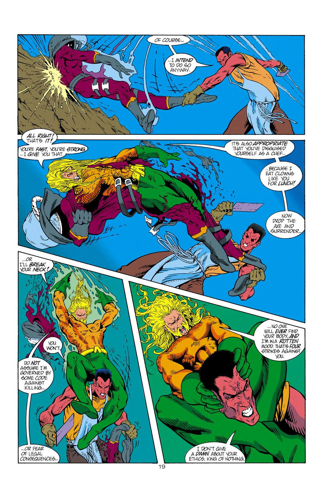 Read online Aquaman (1994) comic -  Issue #1 - 20