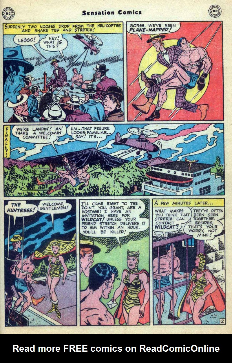 Read online Sensation (Mystery) Comics comic -  Issue #73 - 43