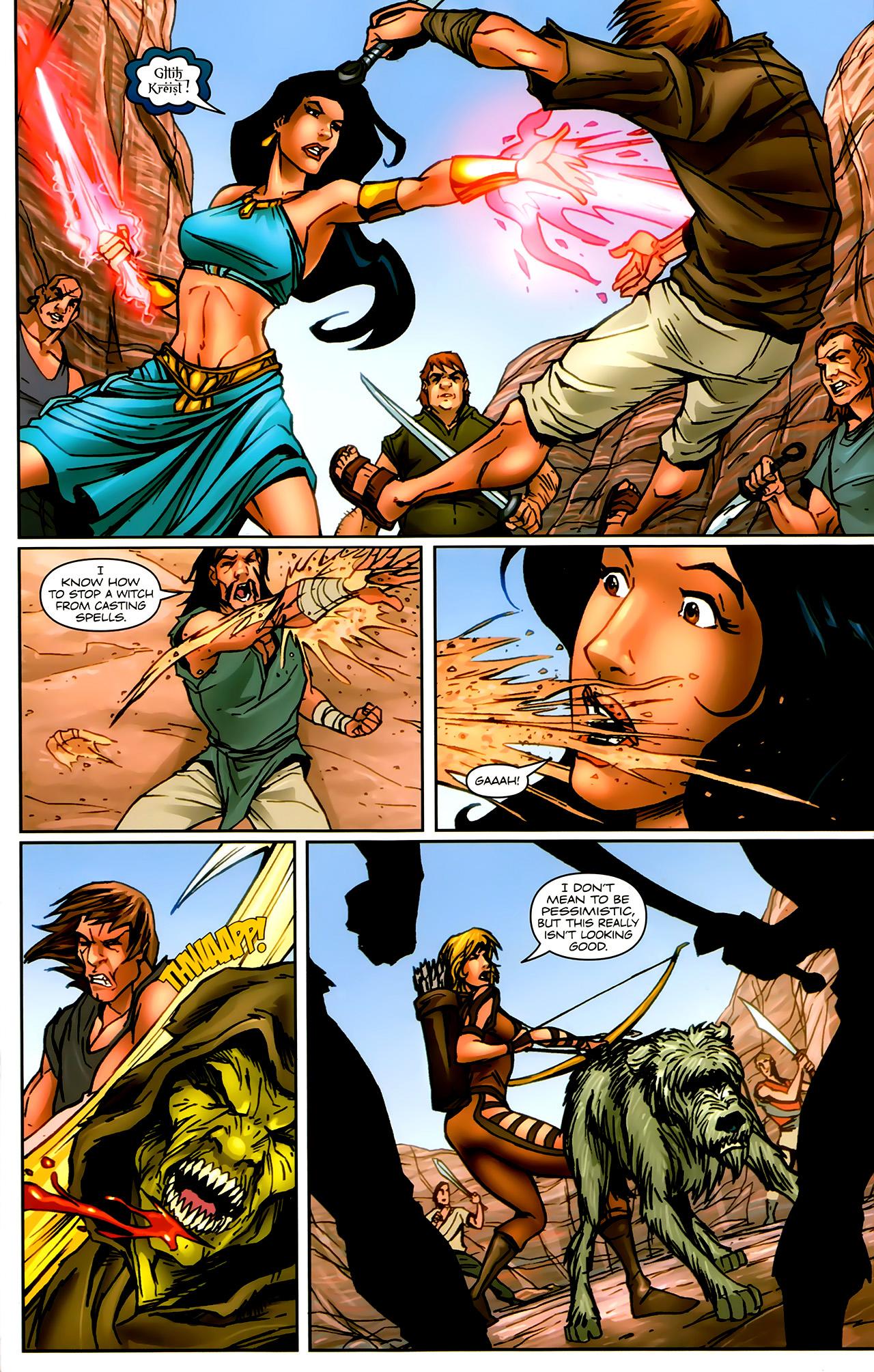 Read online 1001 Arabian Nights: The Adventures of Sinbad comic -  Issue #9 - 17