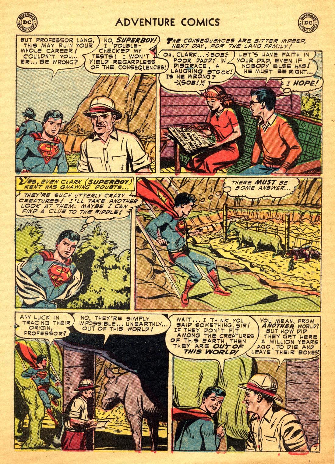Read online Adventure Comics (1938) comic -  Issue #206 - 9