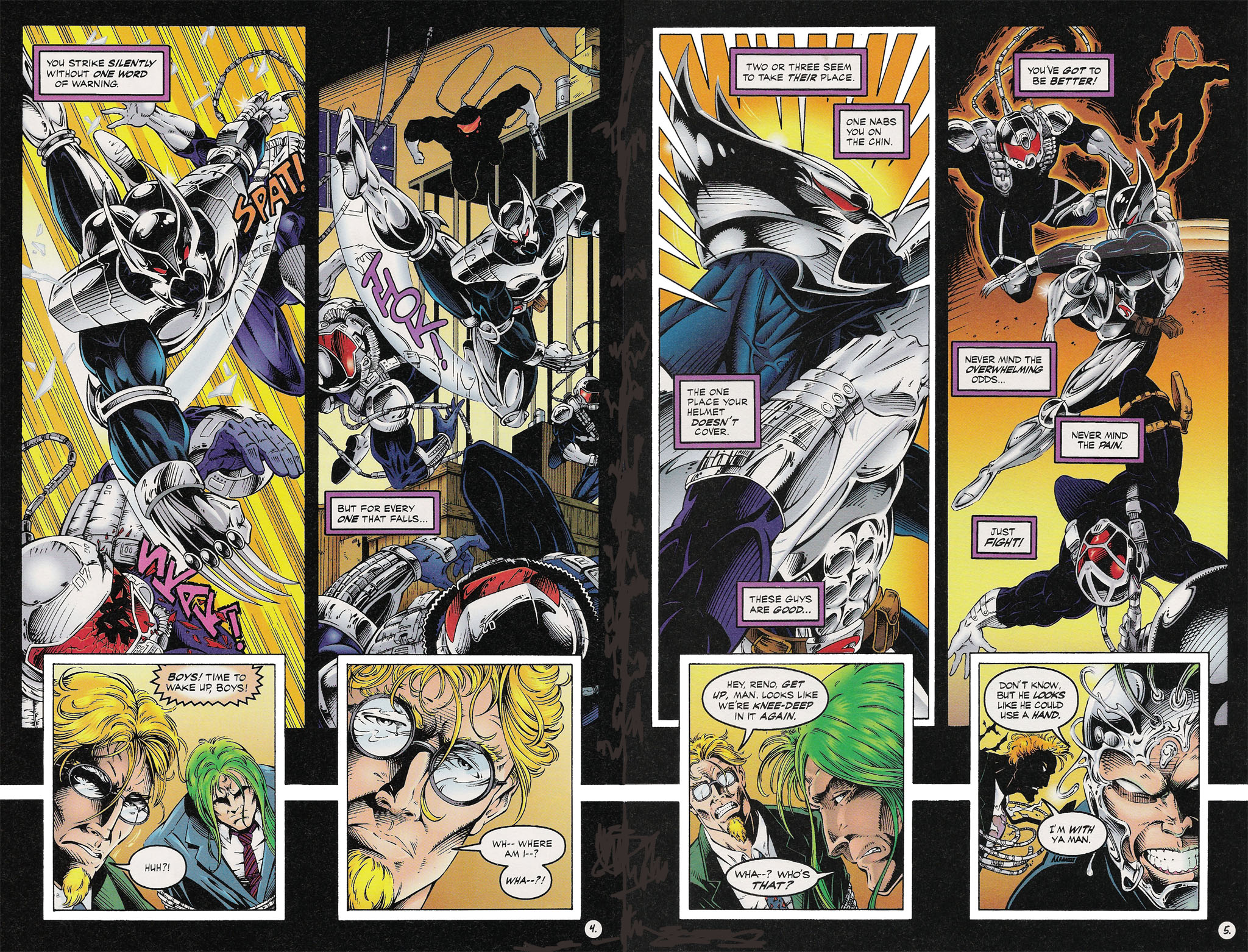 Read online ShadowHawk comic -  Issue #13 - 5