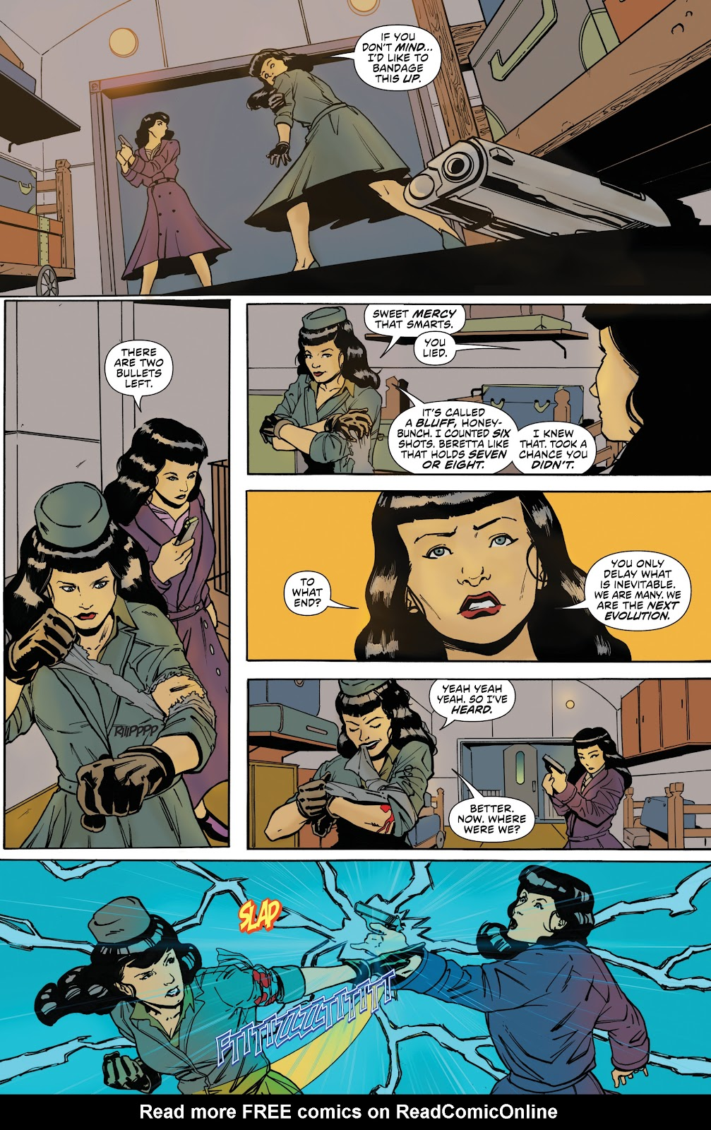Read online Bettie Page: Unbound comic -  Issue #8 - 19