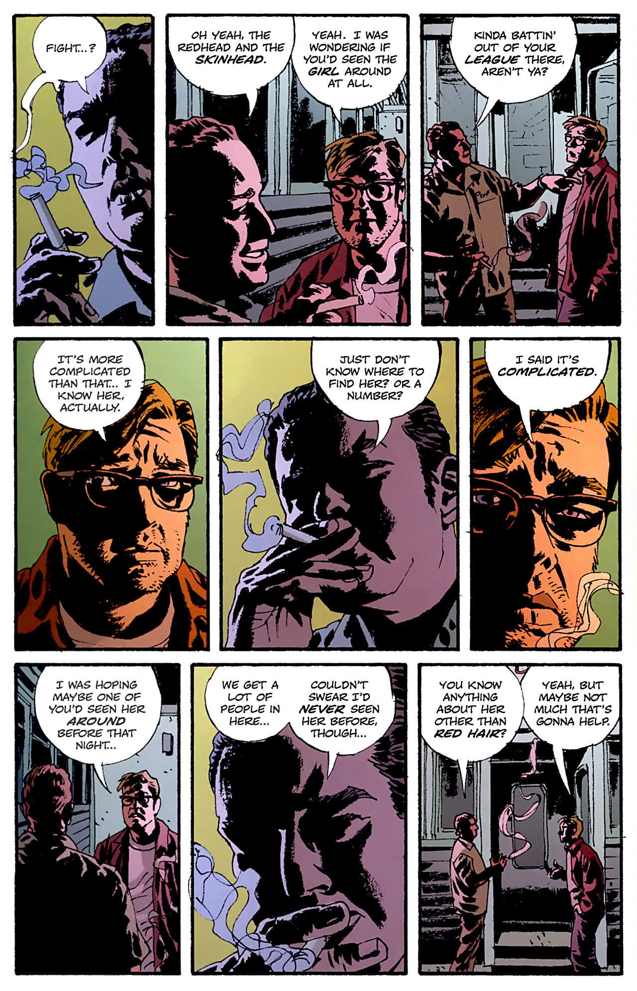 Read online Criminal (2008) comic -  Issue #6 - 20