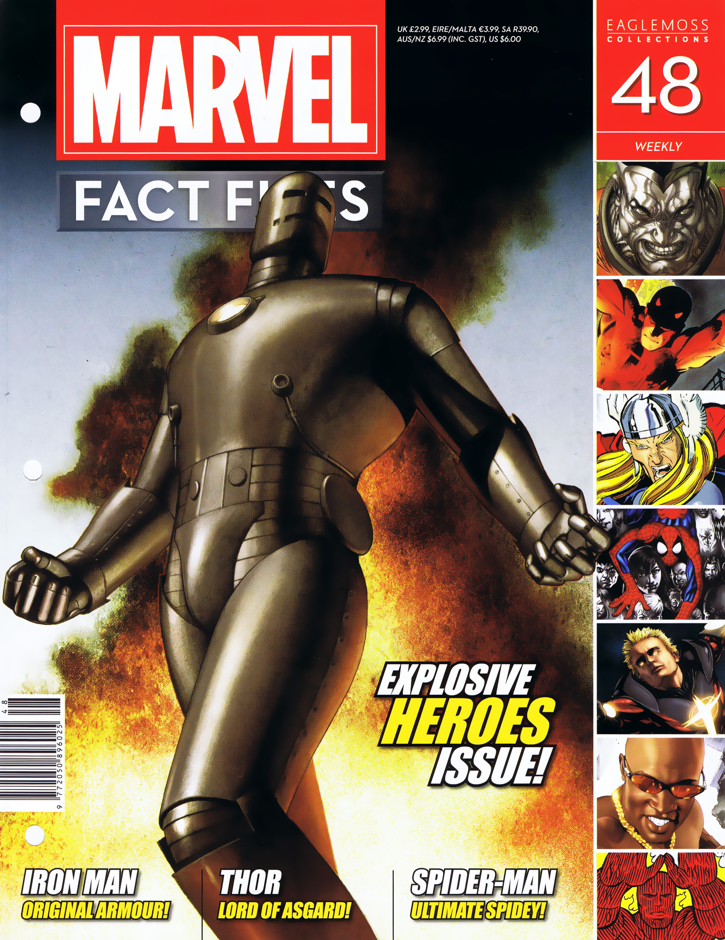 Marvel Fact Files 48 Page 1