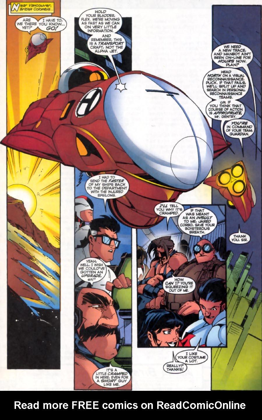 Read online Alpha Flight (1997) comic -  Issue #19 - 20