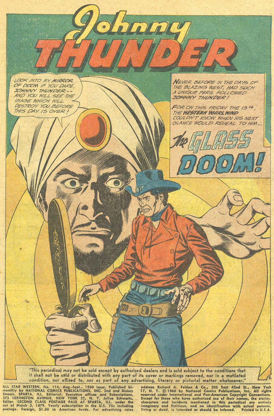 Read online All-Star Western (1951) comic -  Issue #114 - 3