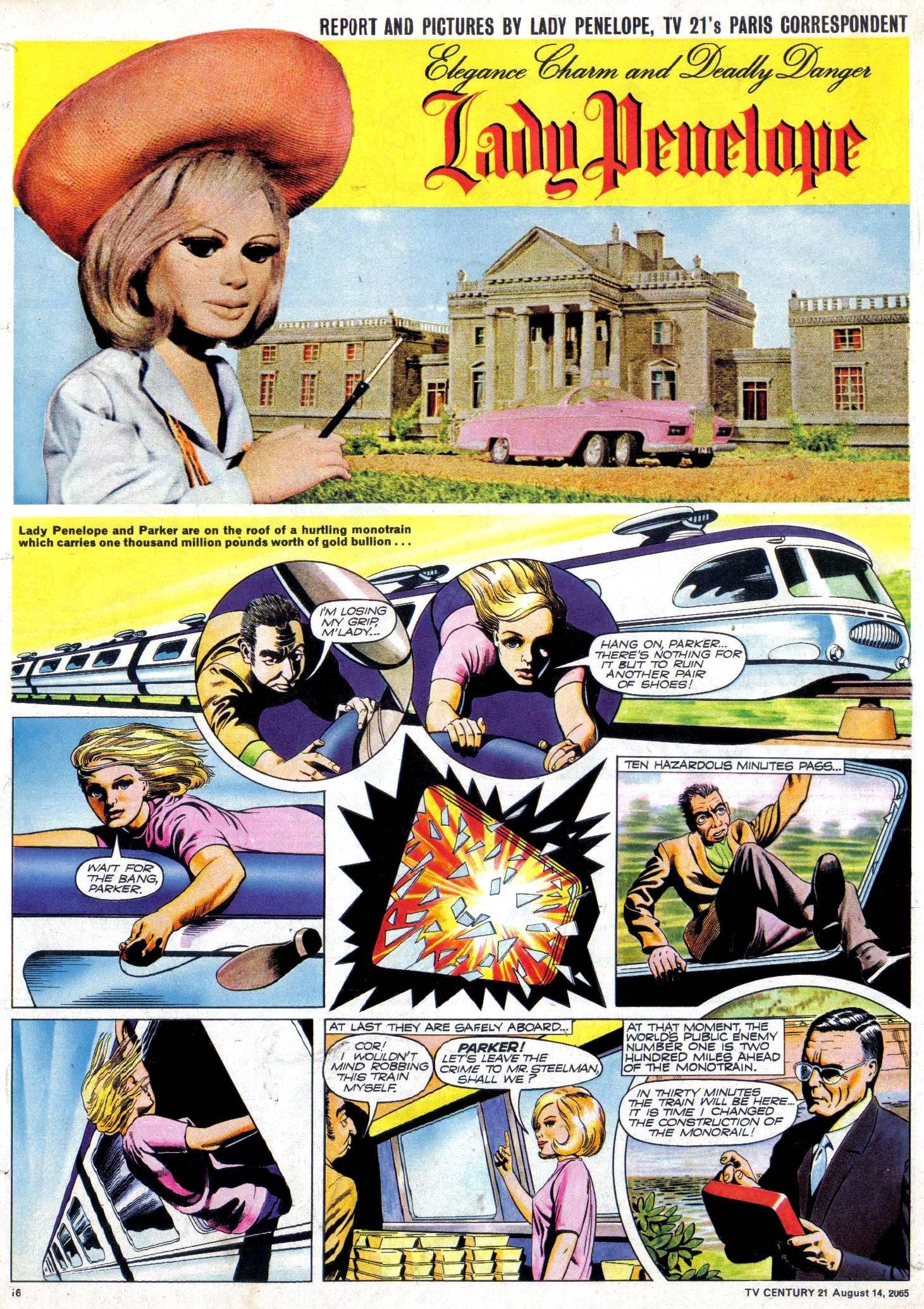 Read online TV Century 21 (TV 21) comic -  Issue #30 - 15