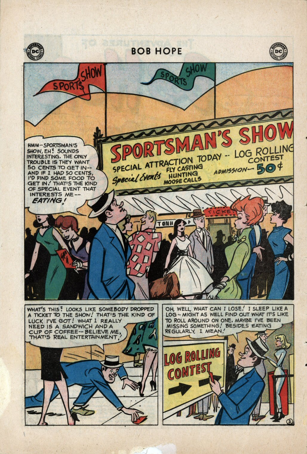 The Adventures of Bob Hope issue 59 - Page 4