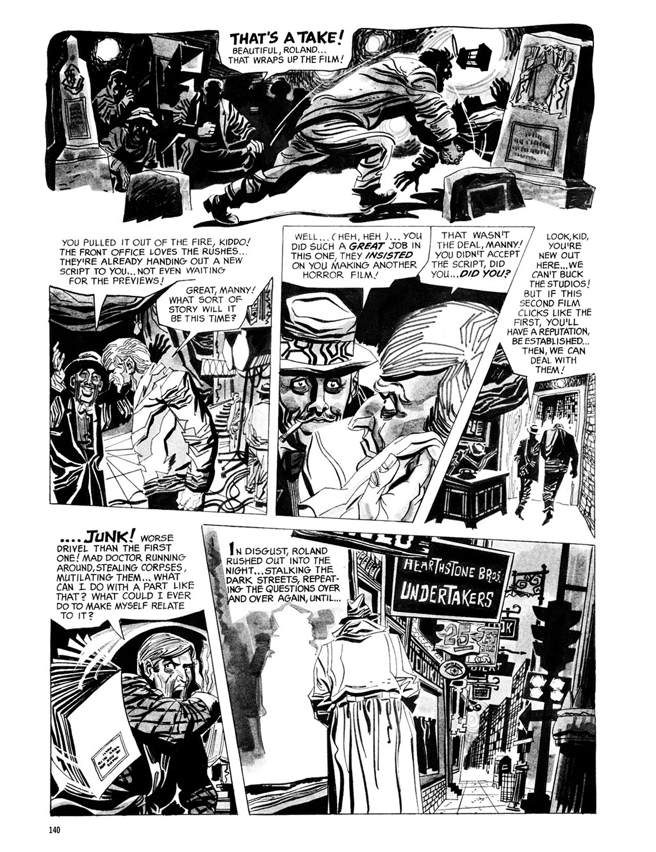 Read online Eerie Archives comic -  Issue # TPB 2 - 141