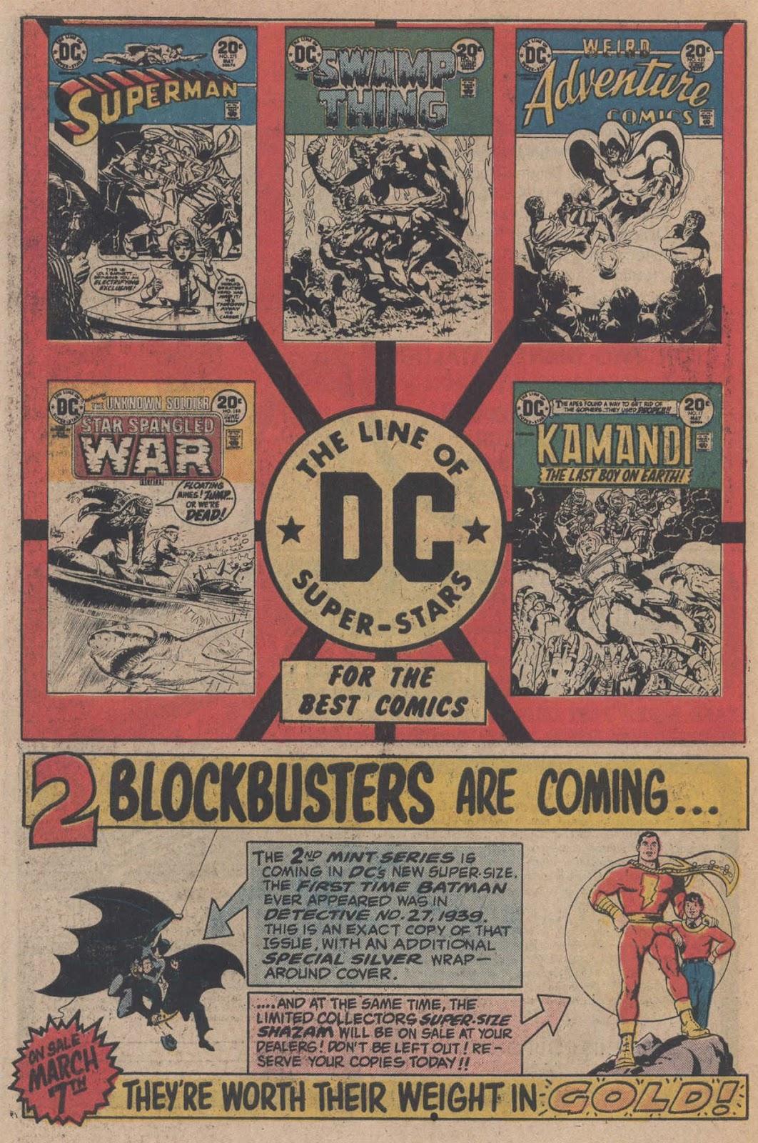 Read online Strange Sports Stories (1973) comic -  Issue #5 - 29