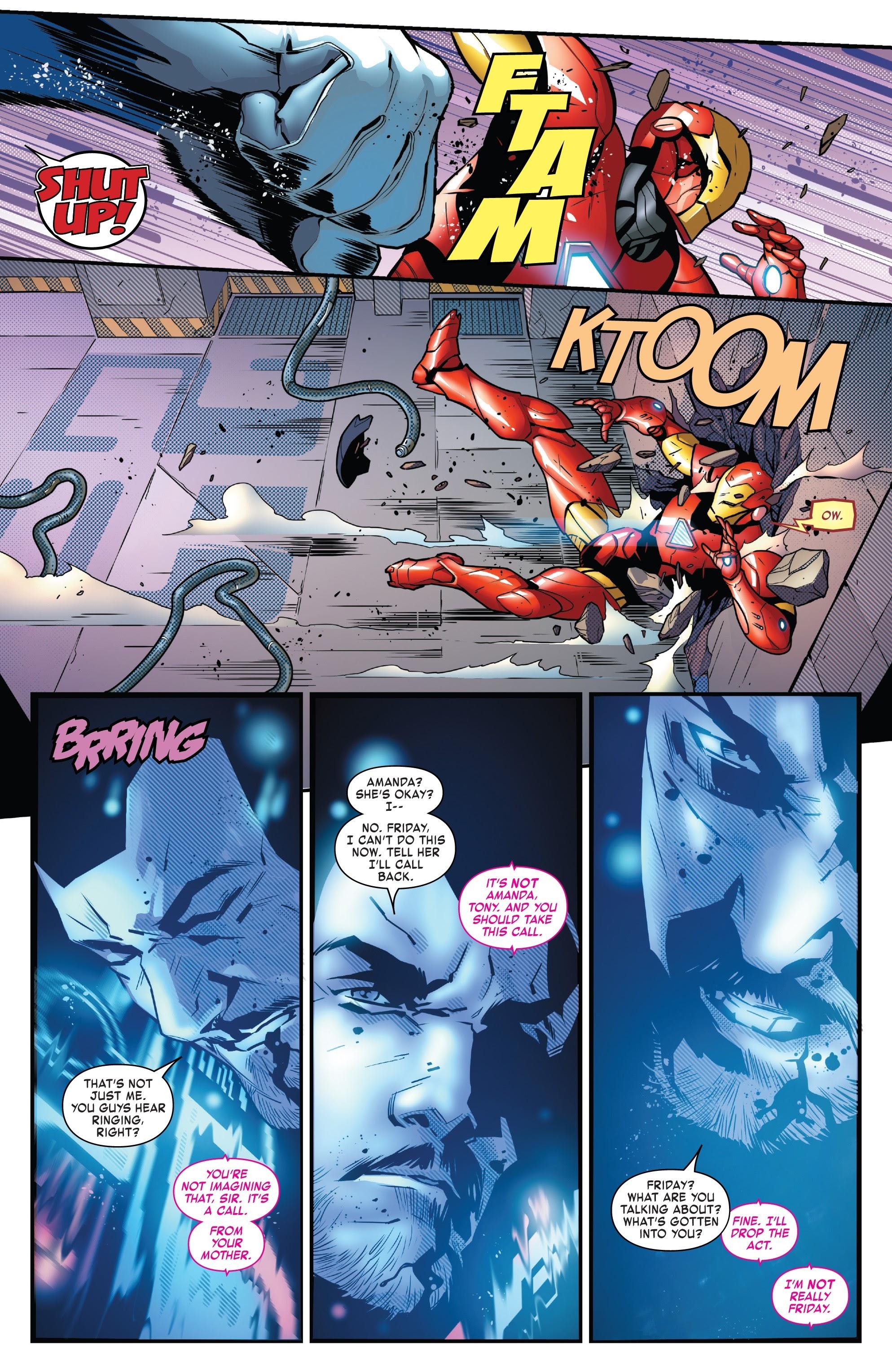 Read online Tony Stark: Iron Man comic -  Issue #8 - 15