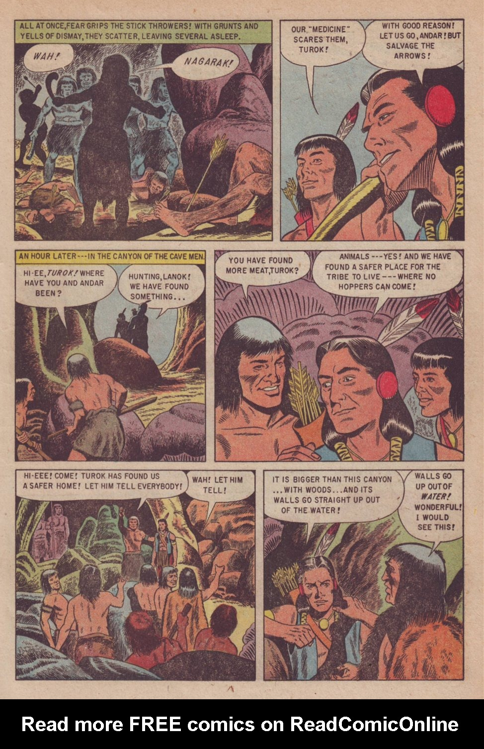 Read online Turok, Son of Stone comic -  Issue #3 - 17