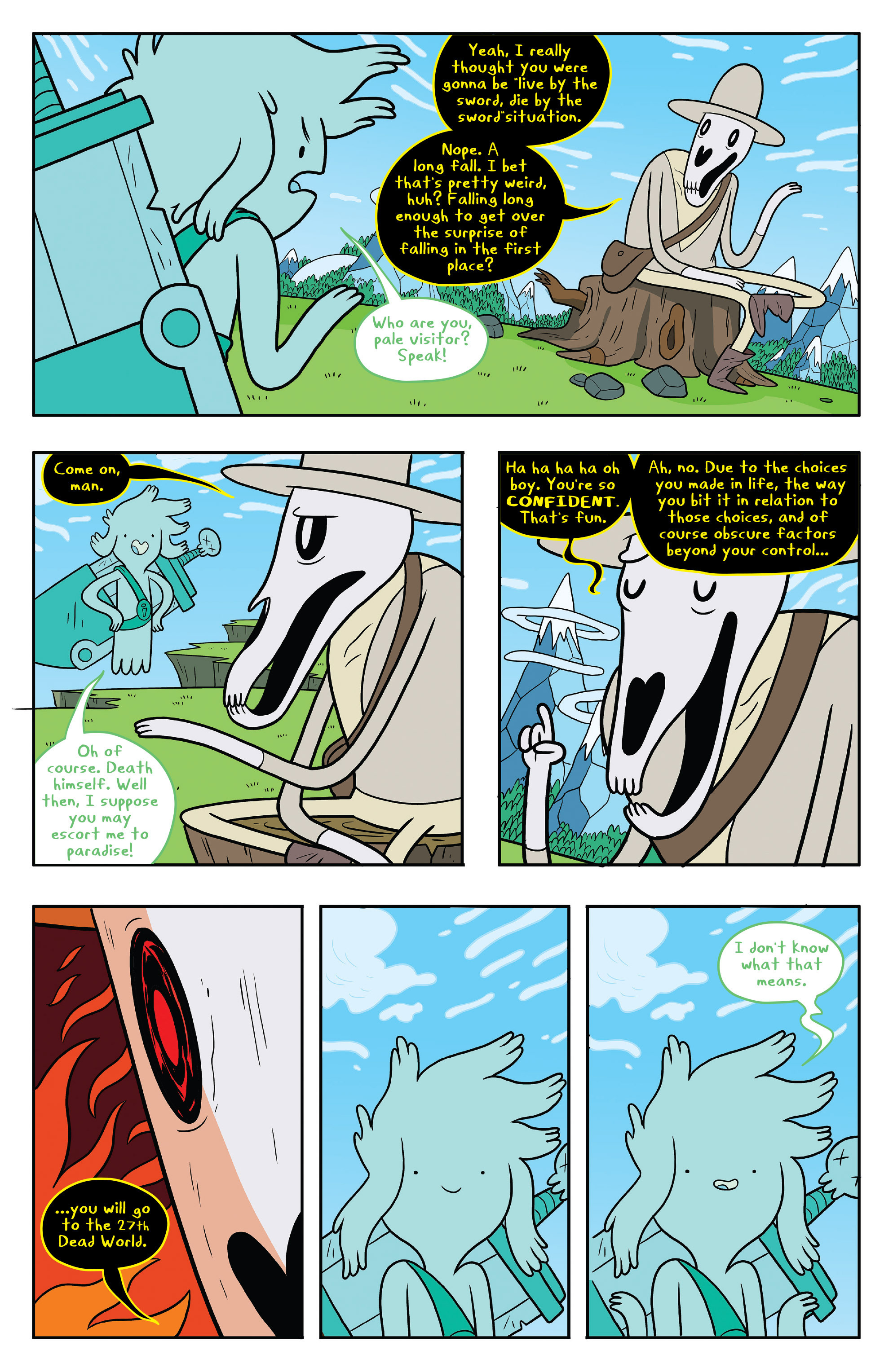 Read online Adventure Time comic -  Issue #53 - 5