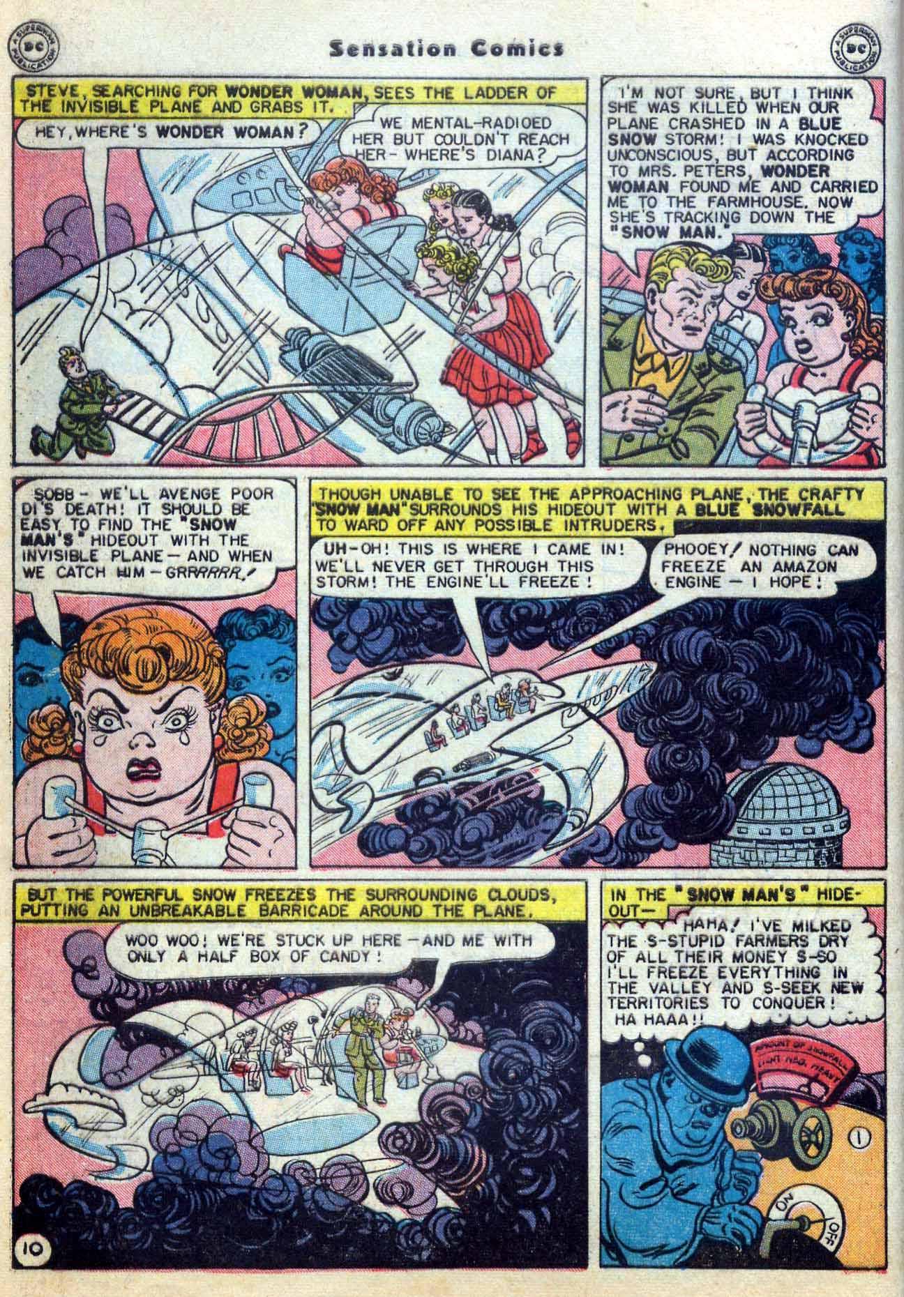 Read online Sensation (Mystery) Comics comic -  Issue #59 - 12