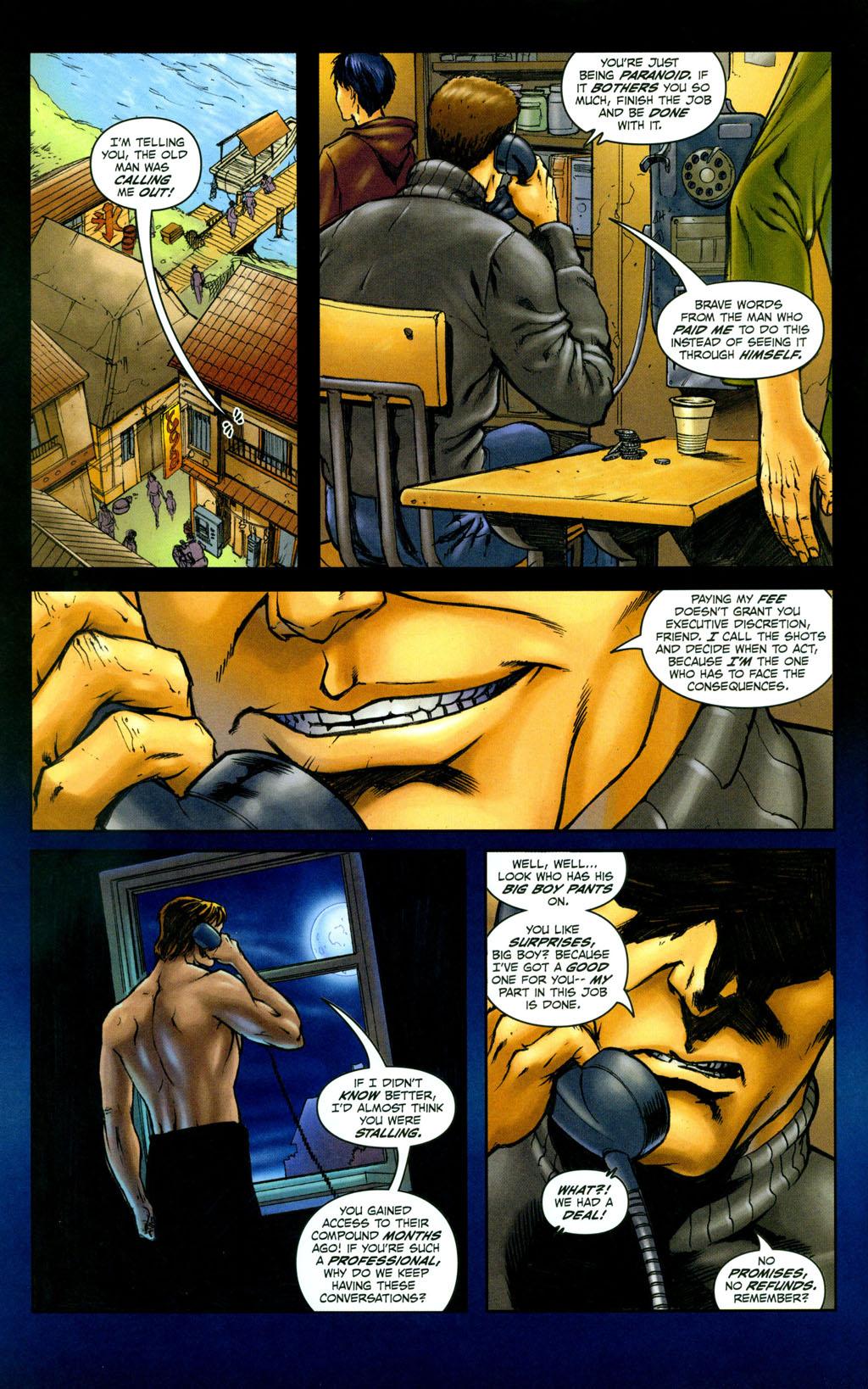 Read online Snake Eyes: Declassified comic -  Issue #4 - 6