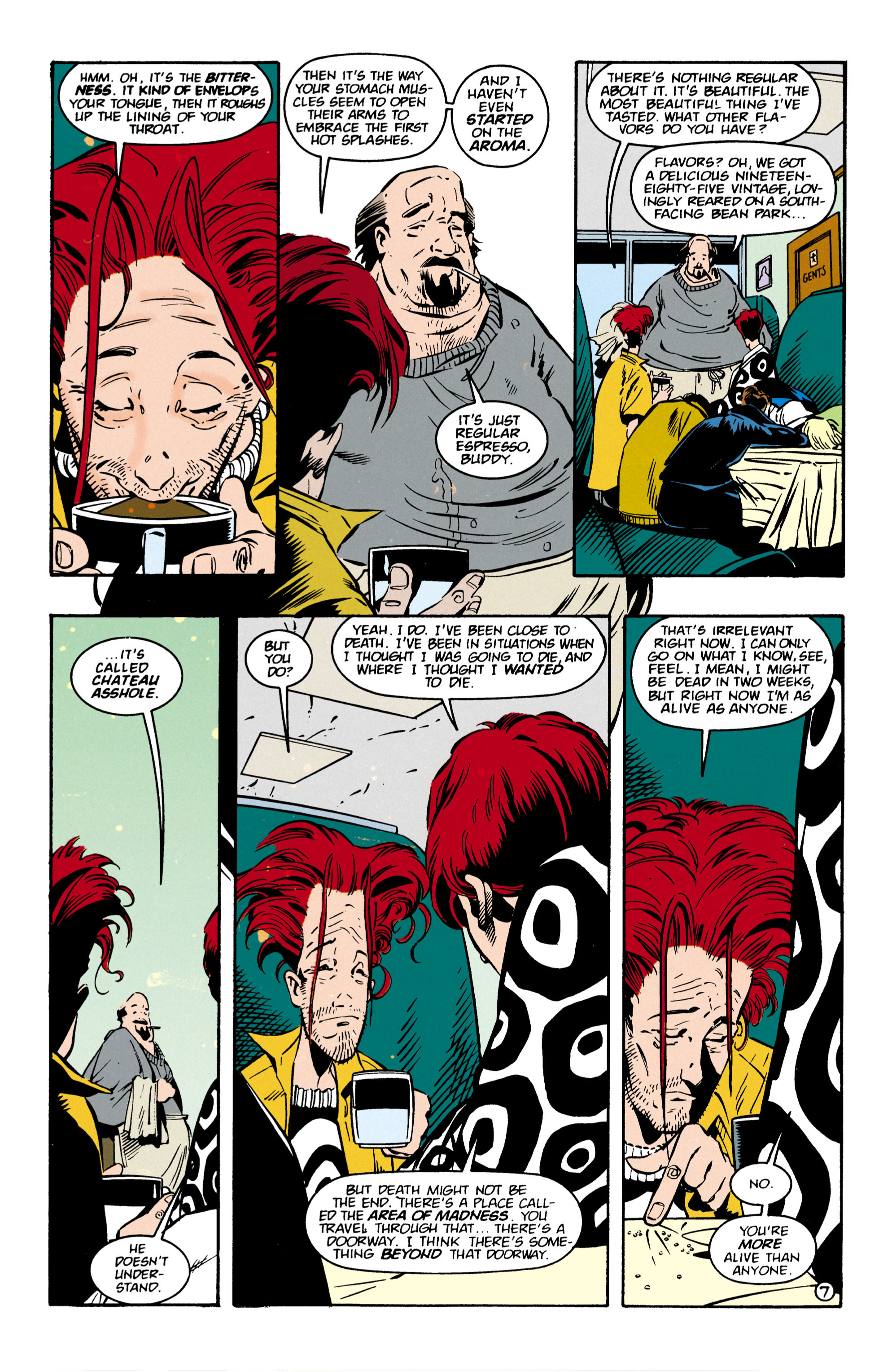 Read online Shade, the Changing Man comic -  Issue #57 - 8