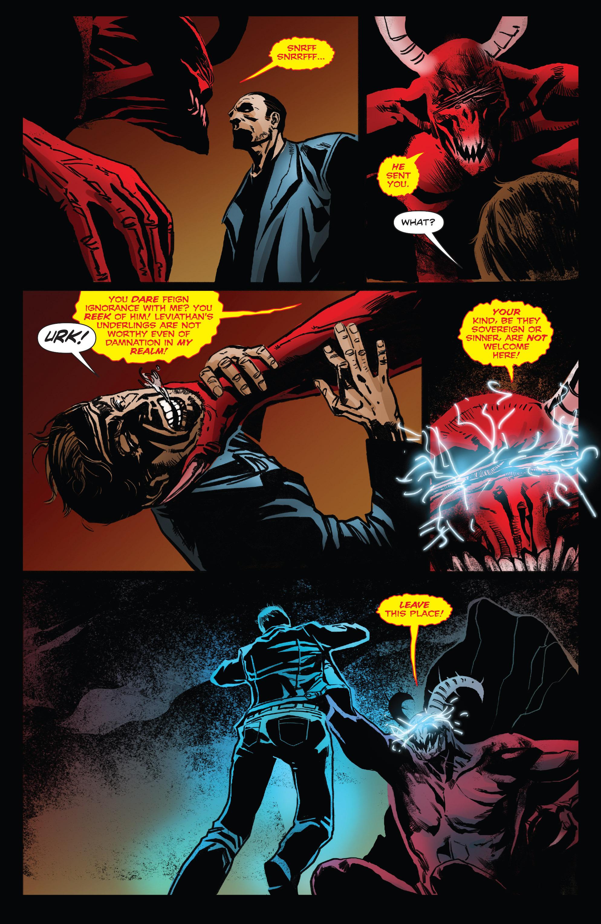 Read online Clive Barker's Hellraiser: The Dark Watch comic -  Issue # TPB 3 - 32