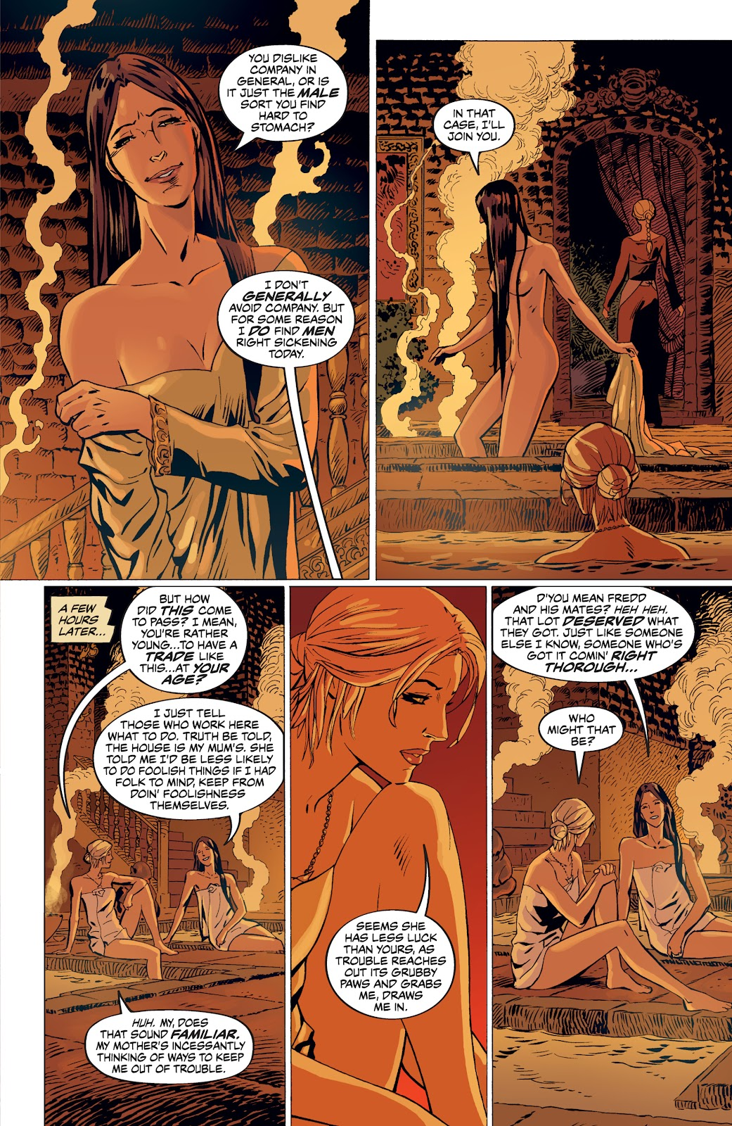 Read online The Witcher Omnibus comic -  Issue # TPB (Part 4) - 74