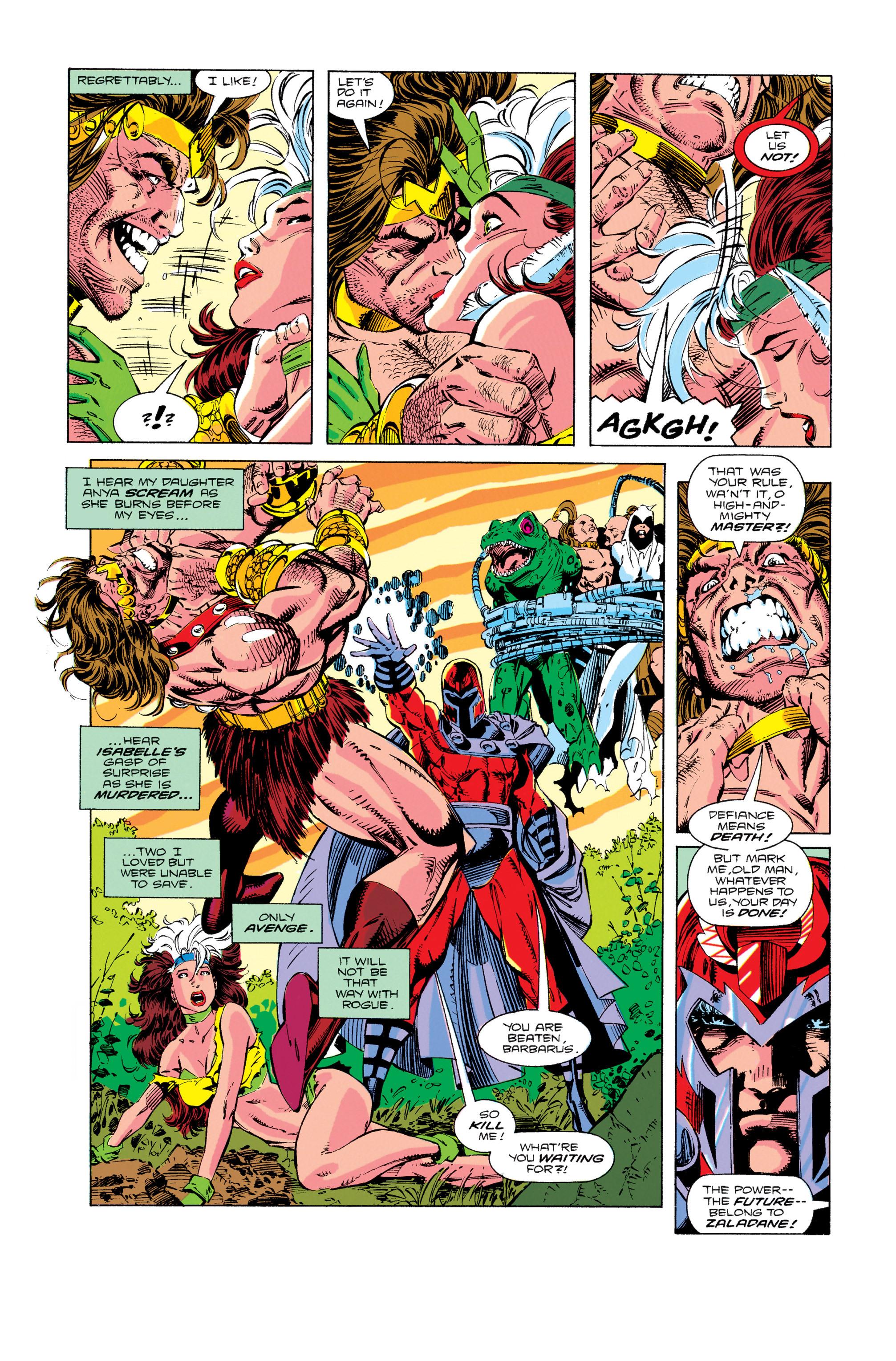 Read online Uncanny X-Men (1963) comic -  Issue #274 - 6