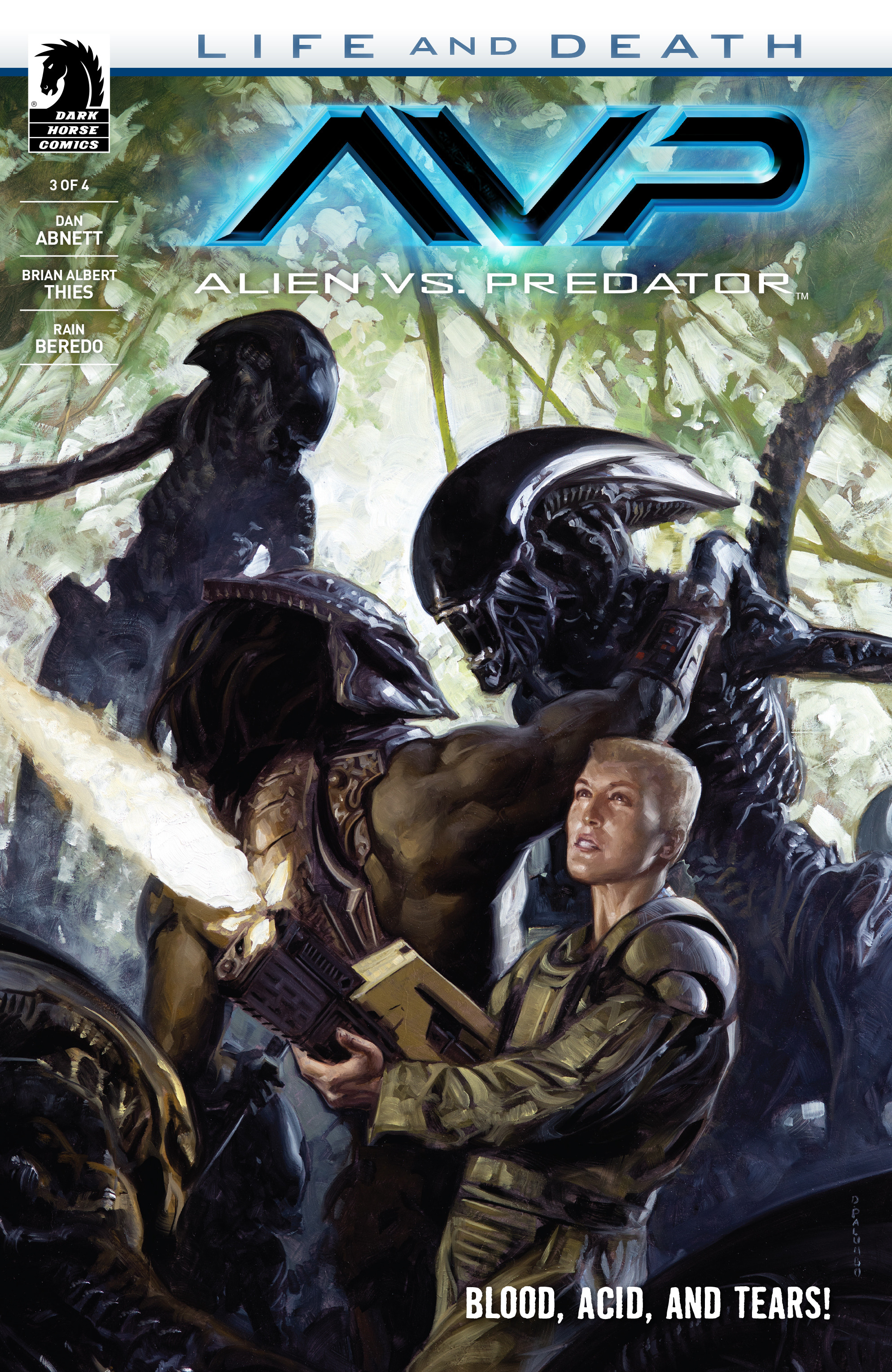 Read online Alien Vs. Predator: Life and Death comic -  Issue #3 - 1
