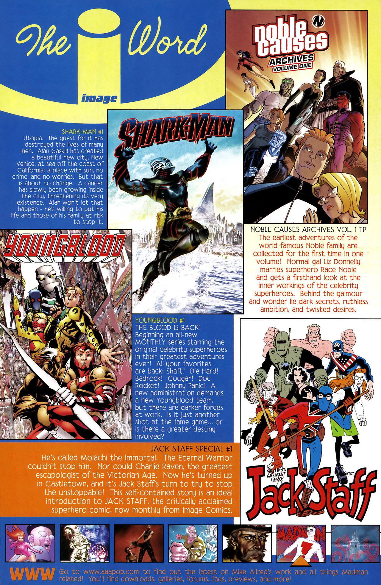 Read online Shark-Man comic -  Issue #1 - 33