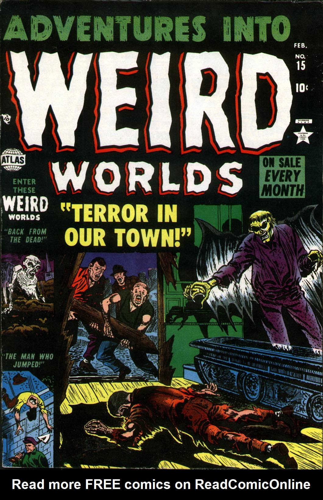 Adventures into Weird Worlds 15 Page 1
