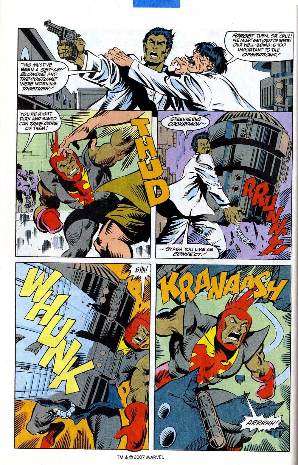 Read online Captain America (1968) comic -  Issue # _Annual 12 - 38