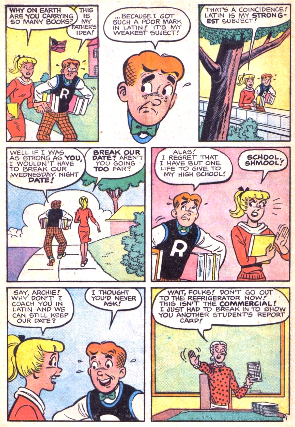 Read online Archie (1960) comic -  Issue #138 - 16