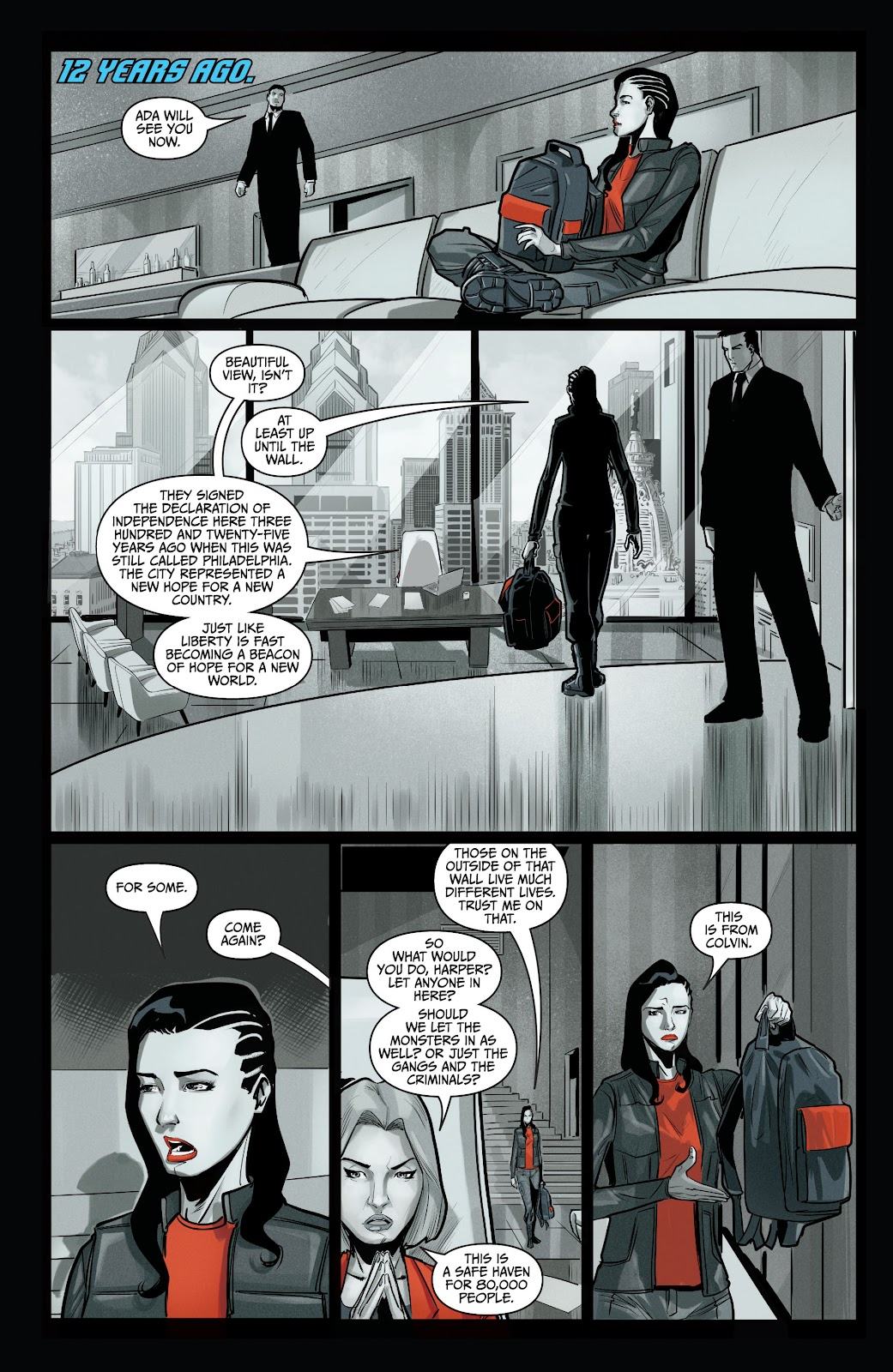 The Courier: Liberty & Death issue 2 - Page 11