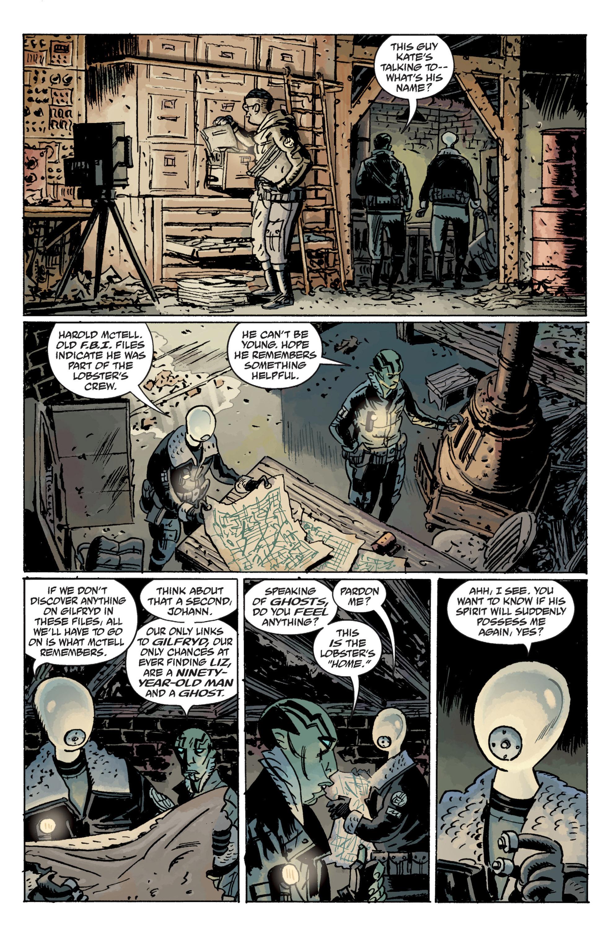 Read online B.P.R.D. (2003) comic -  Issue # TPB 11 - 13