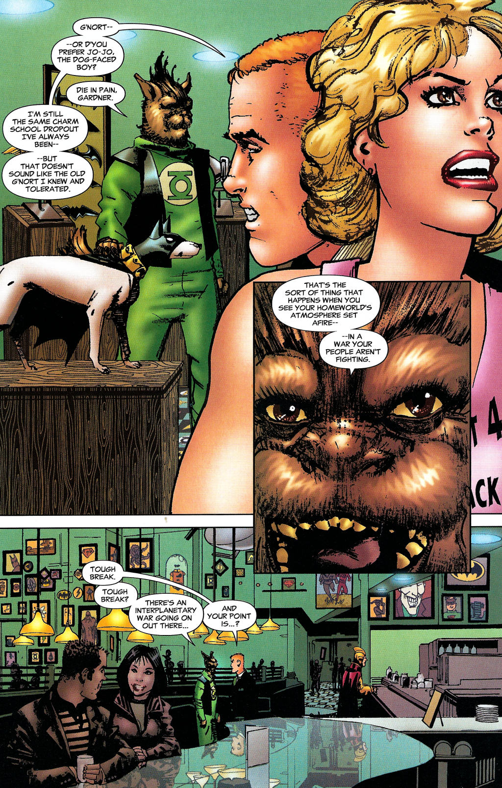 Read online Guy Gardner: Collateral Damage comic -  Issue #1 - 16