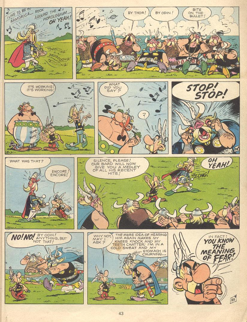 Read online Asterix comic -  Issue #9 - 40