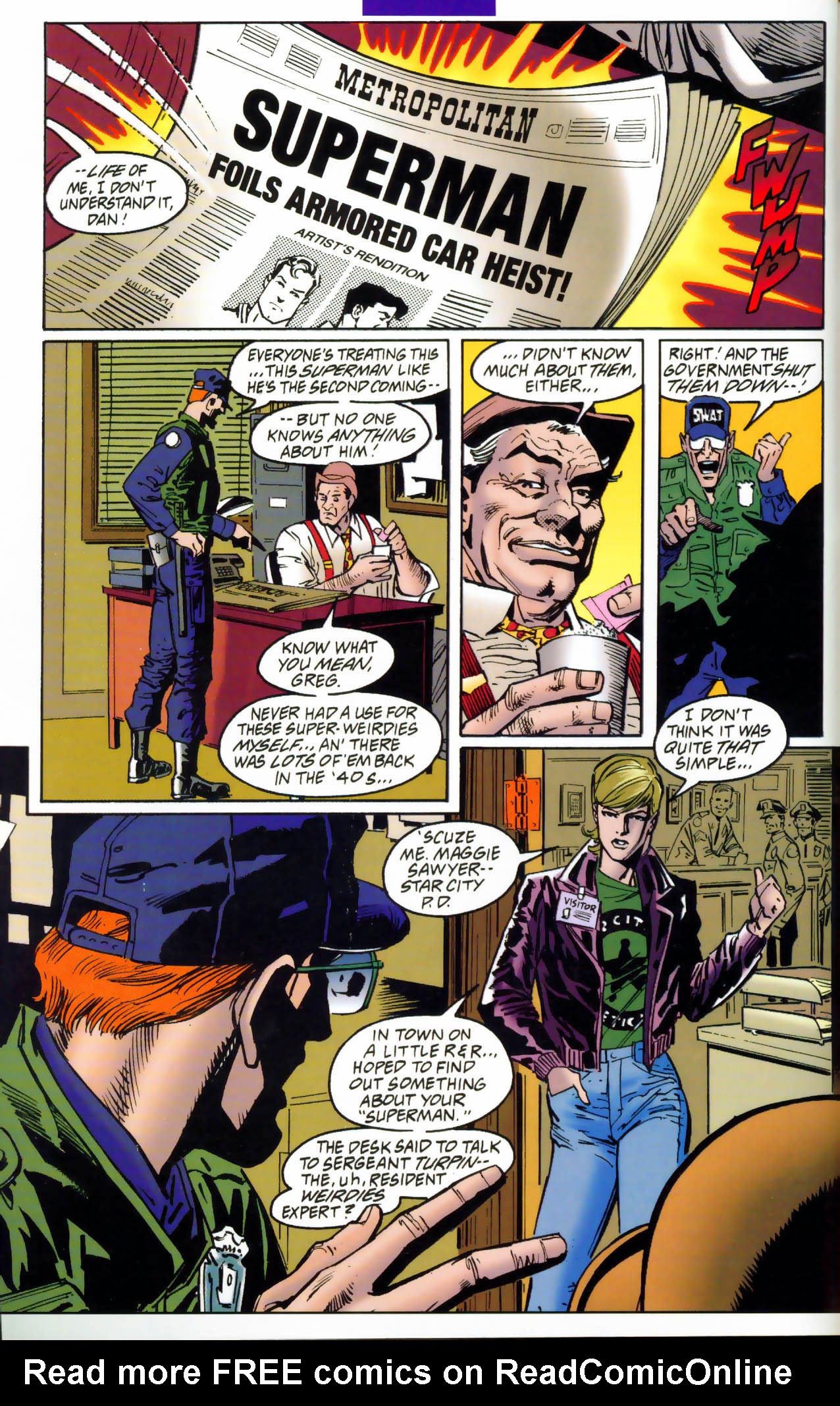 Read online Adventures of Superman (1987) comic -  Issue #Adventures of Superman (1987) _Annual 7 - 11