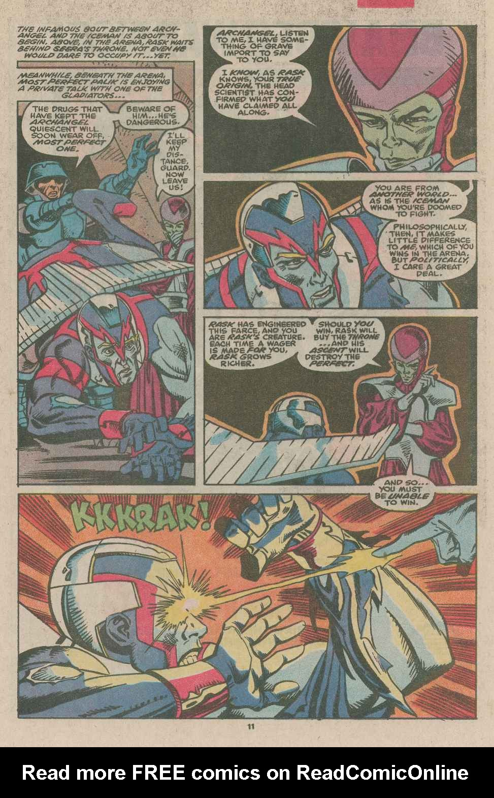 Read online X-Factor (1986) comic -  Issue #49 - 8