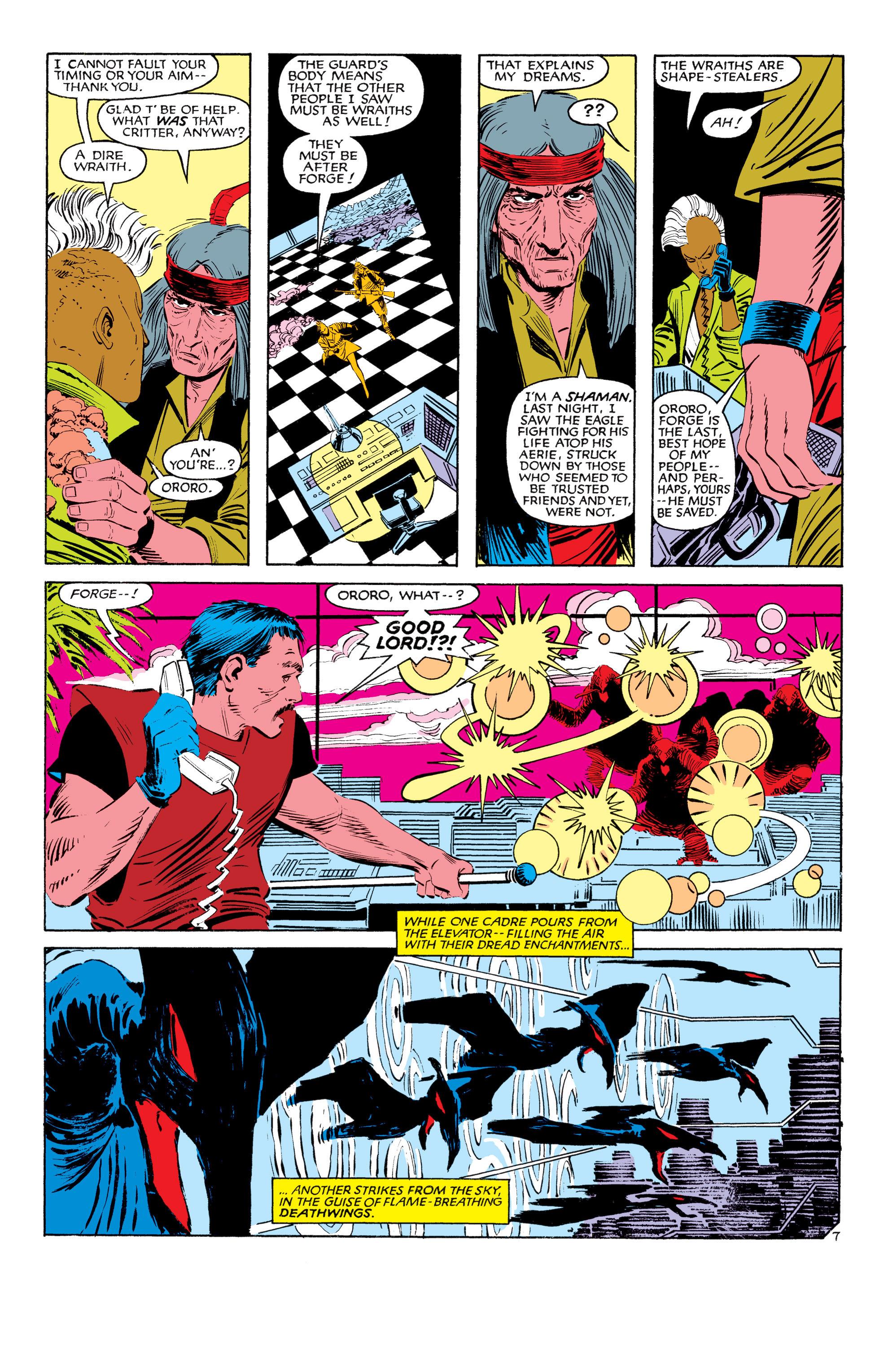 Read online Uncanny X-Men (1963) comic -  Issue #187 - 8