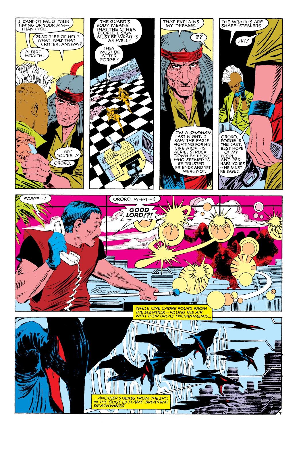 Uncanny X-Men (1963) issue 187 - Page 8