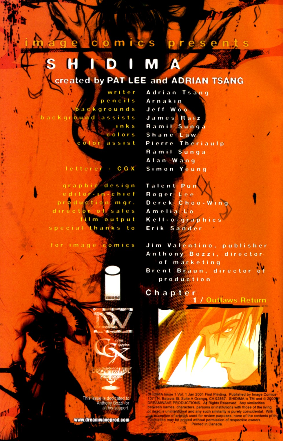 Read online Shidima comic -  Issue #1 - 2