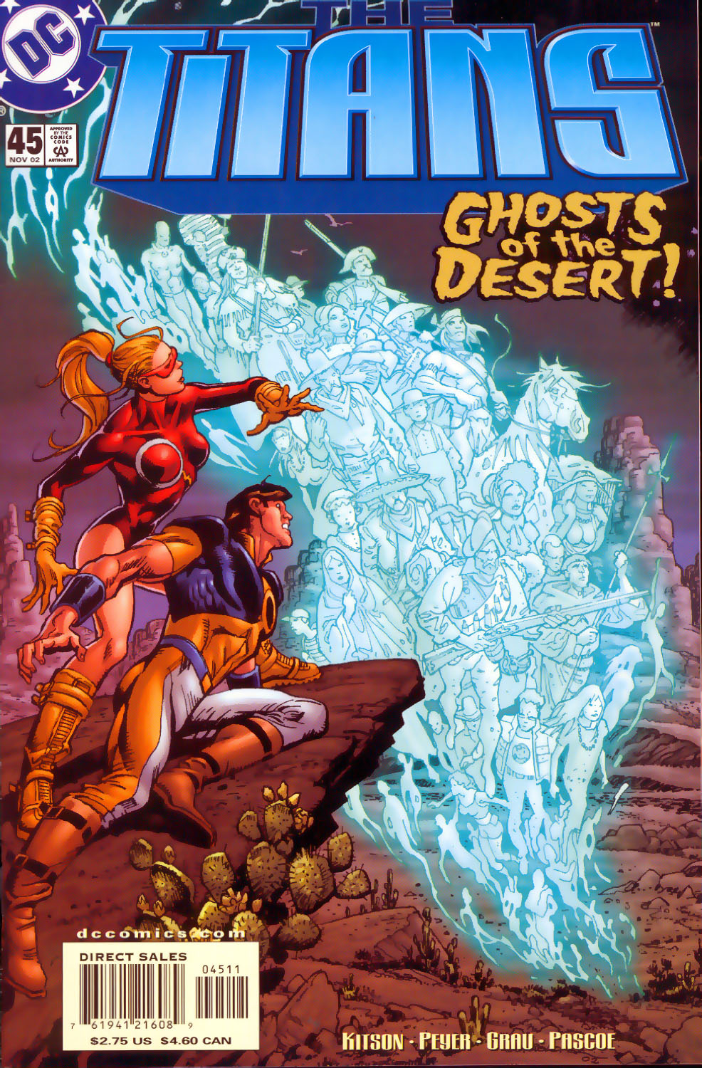 Read online The Titans (1999) comic -  Issue #45 - 1