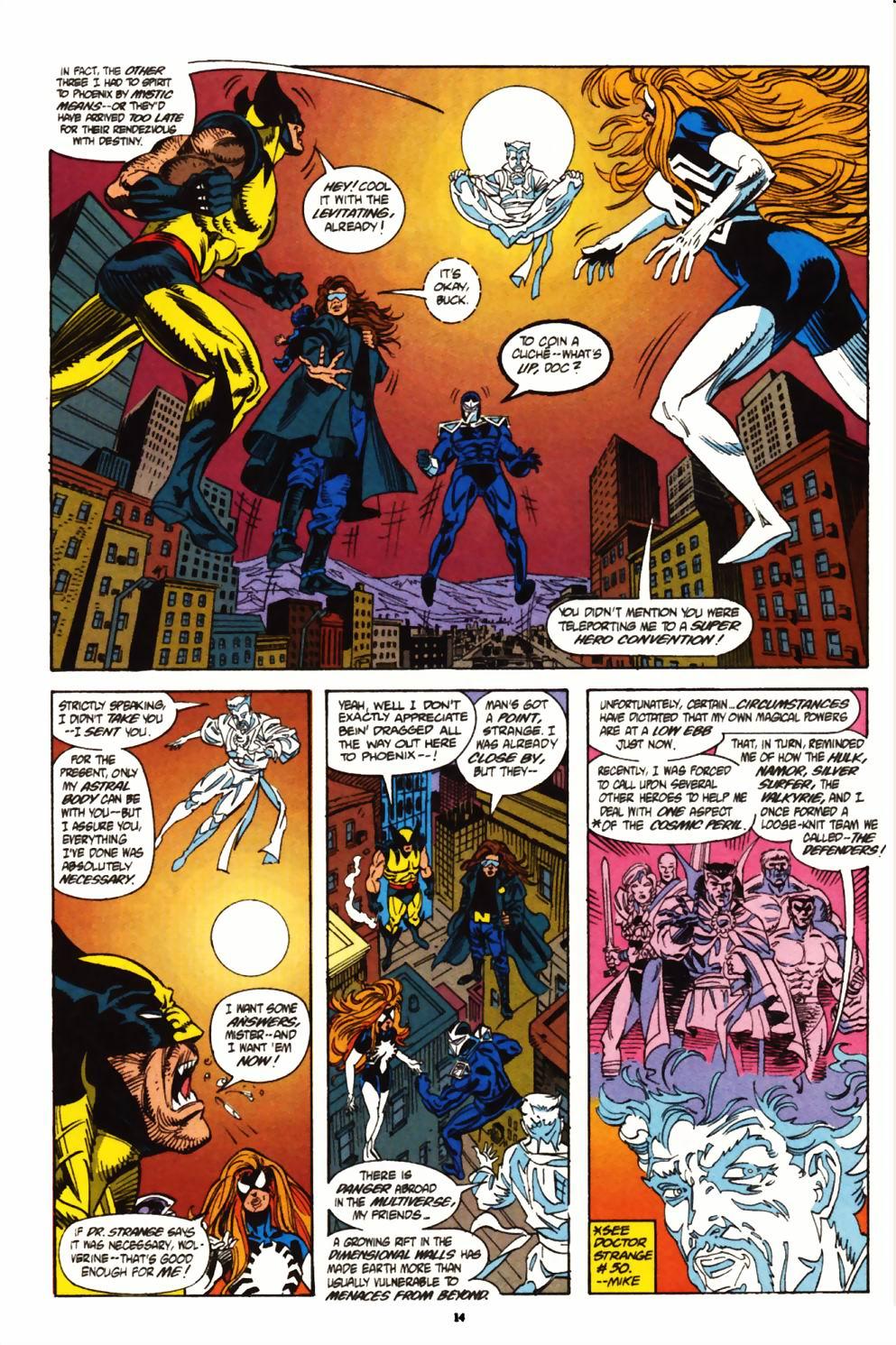 Read online Secret Defenders comic -  Issue #1 - 11
