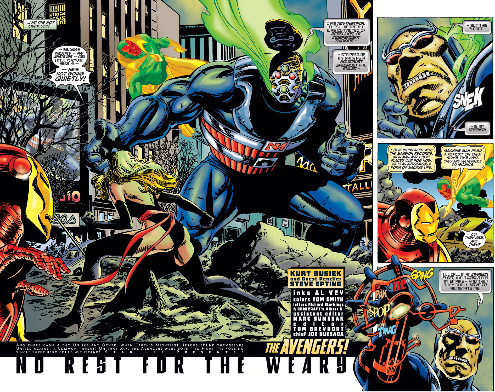 Read online Avengers (1998) comic -  Issue #36 - 3