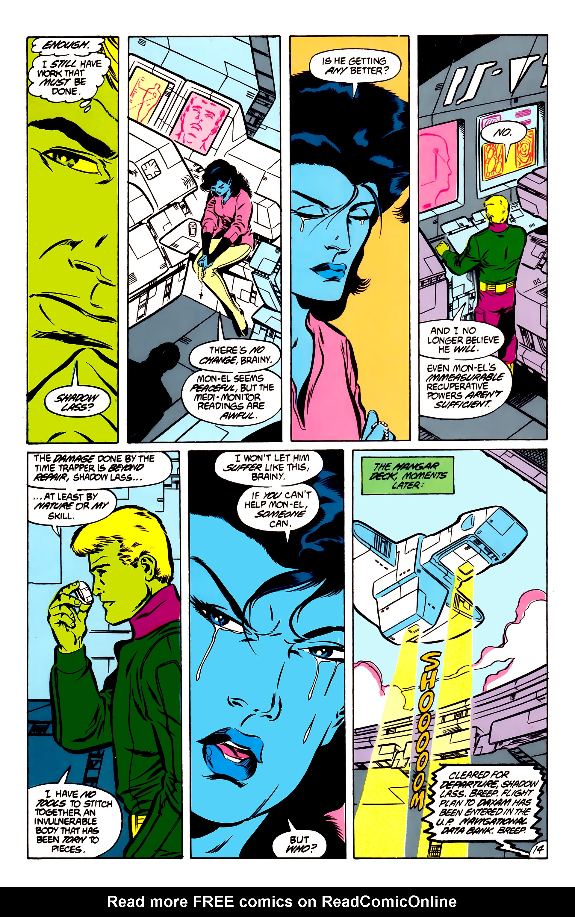 Legion of Super-Heroes (1984) 51 Page 14