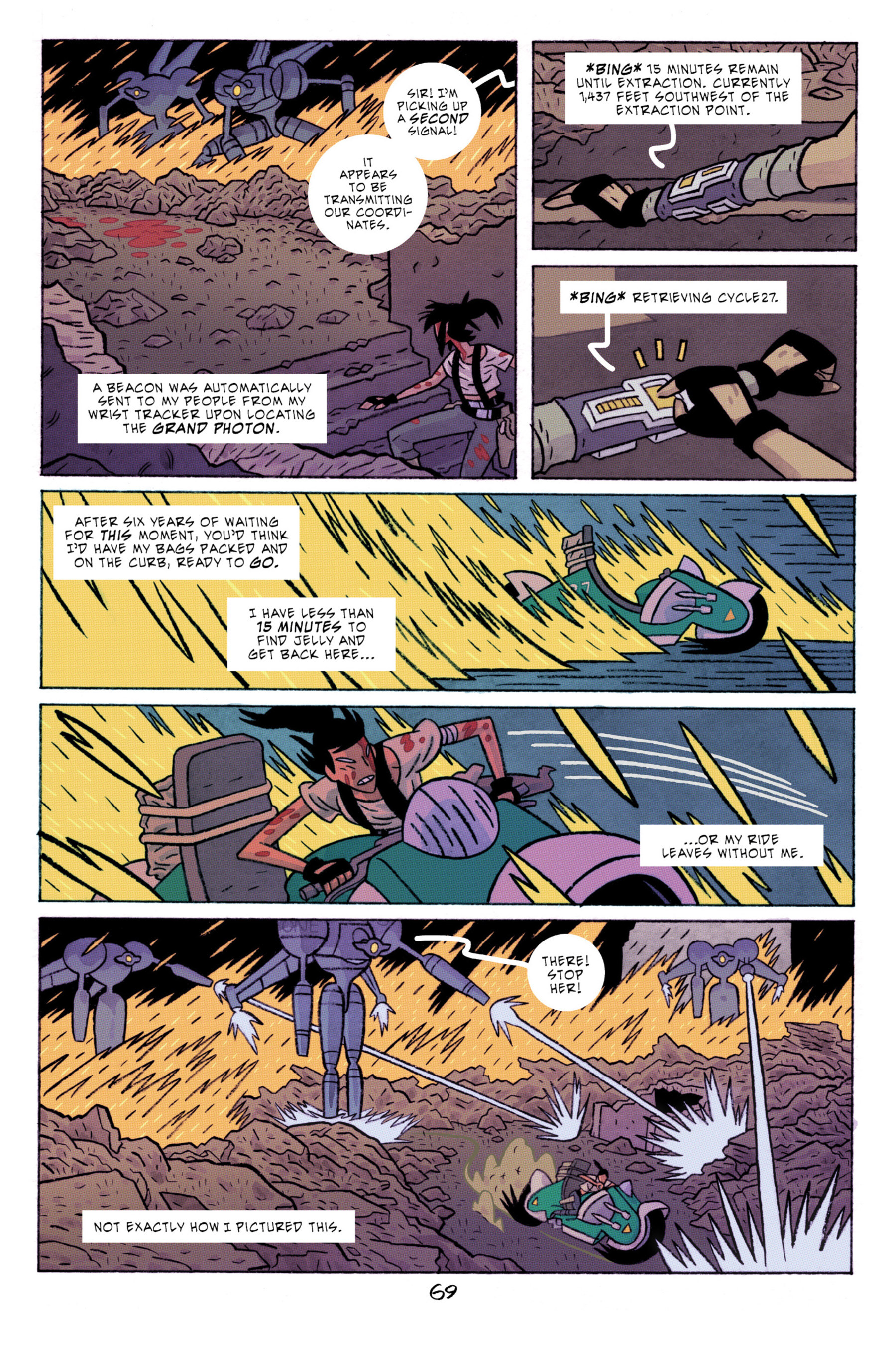 Read online ApocalyptiGirl: An Aria for the End Times comic -  Issue #ApocalyptiGirl: An Aria for the End Times Full - 77