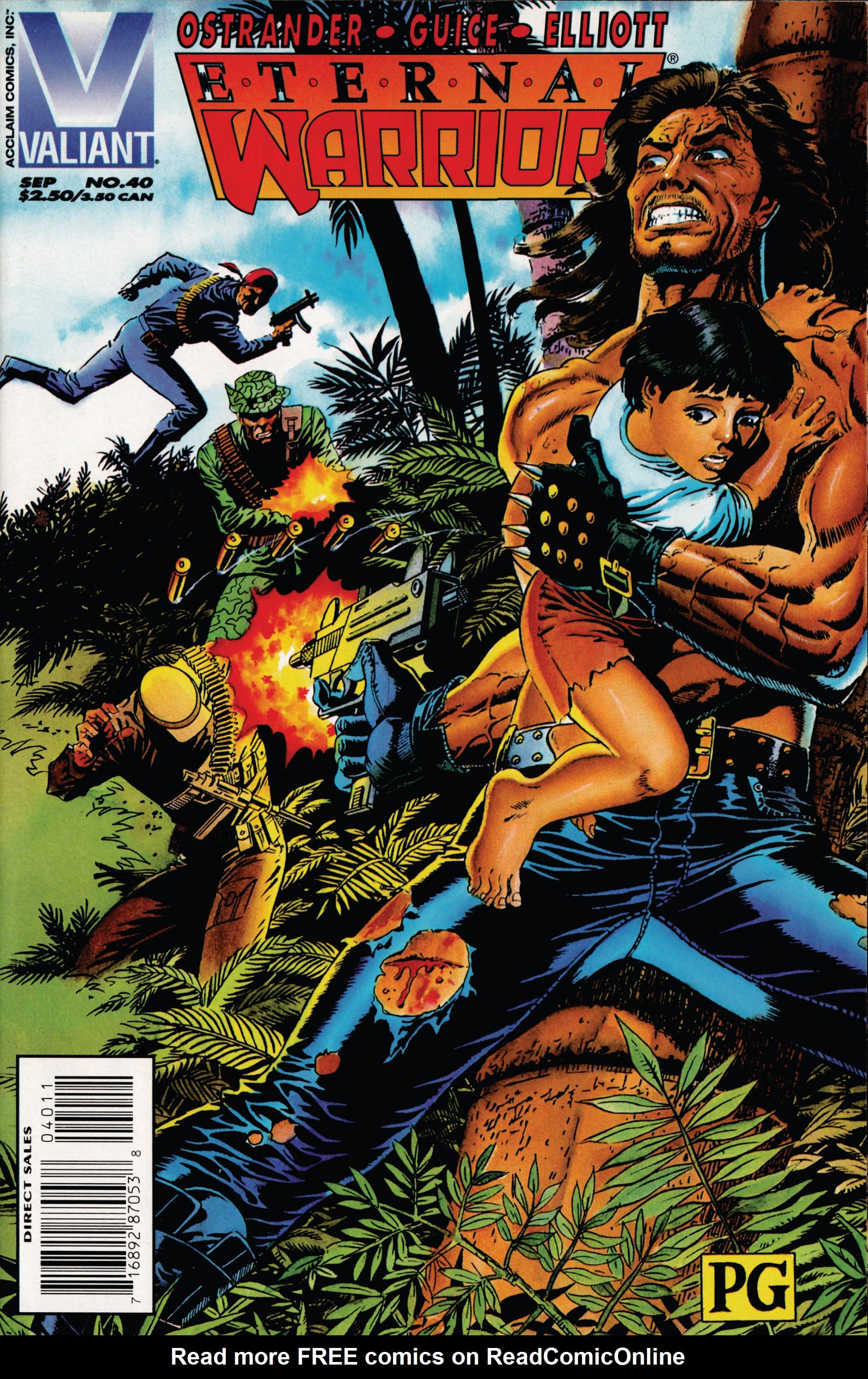 Read online Eternal Warrior (1992) comic -  Issue #40 - 1