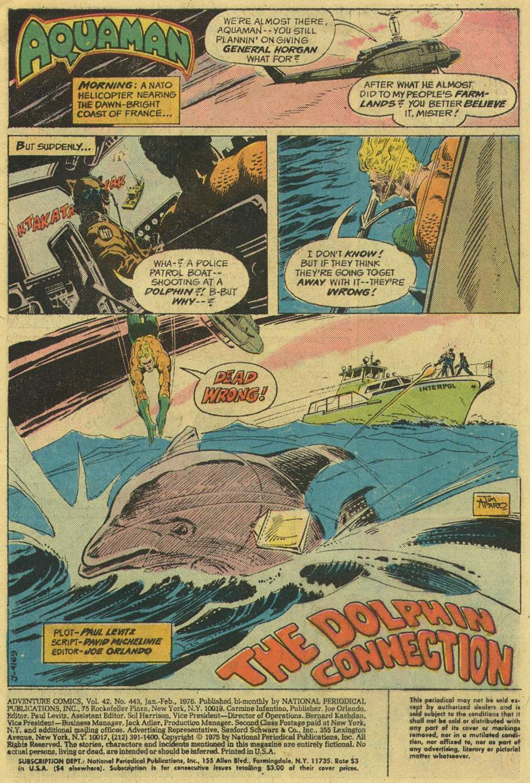 Read online Adventure Comics (1938) comic -  Issue #443 - 3