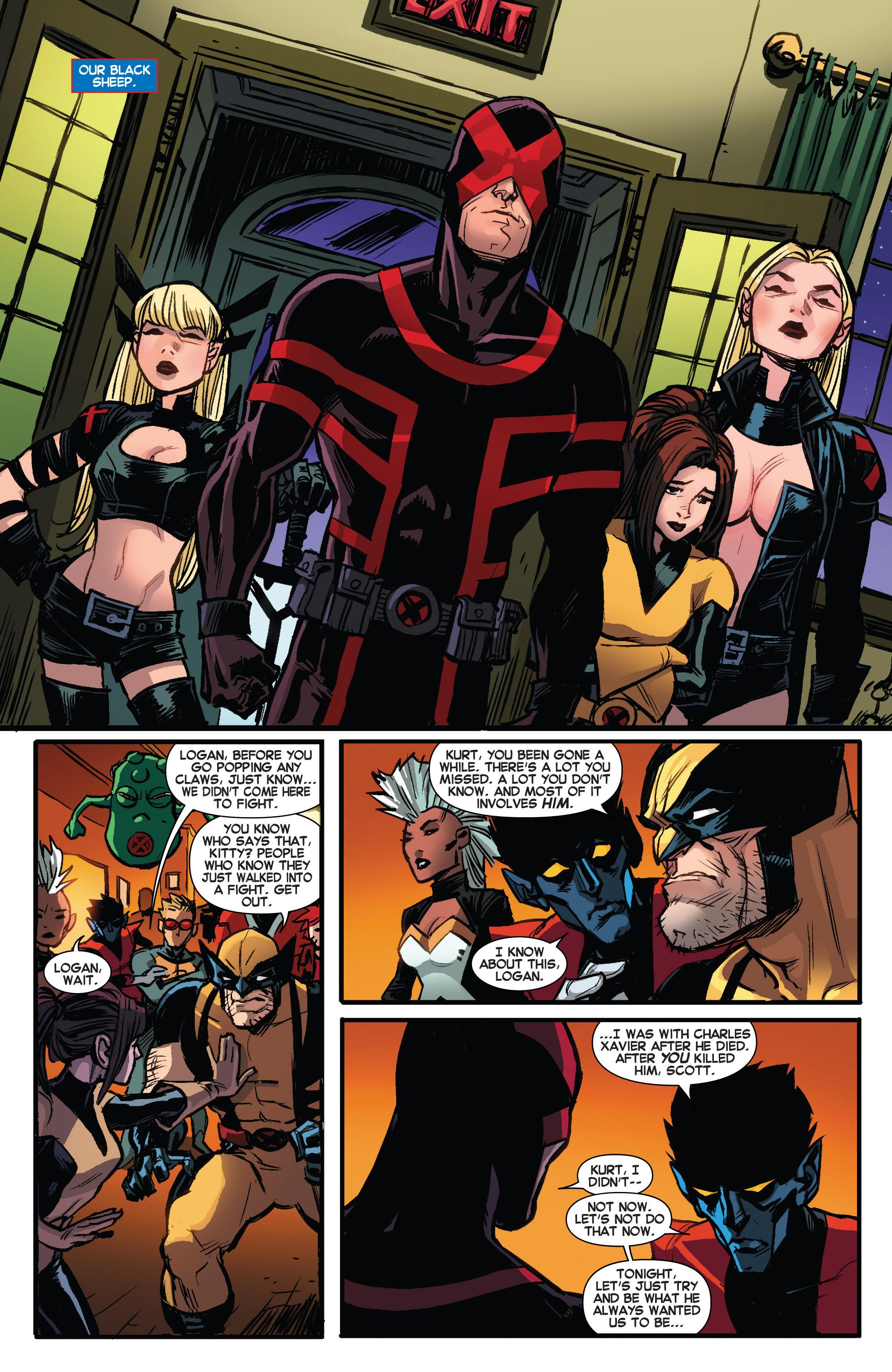 Read online Amazing X-Men (2014) comic -  Issue #6 - 8