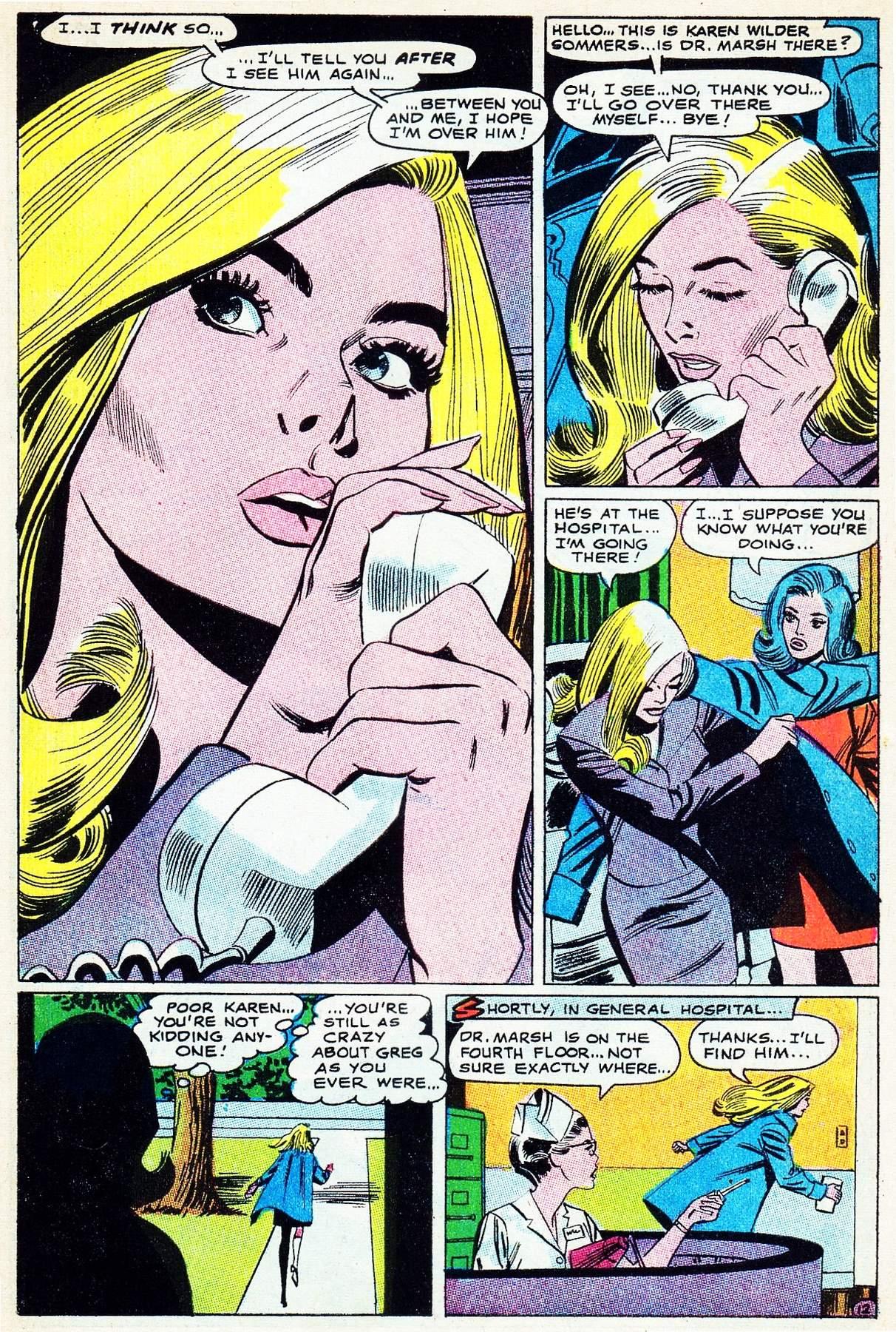 Read online Secret Hearts comic -  Issue #133 - 31