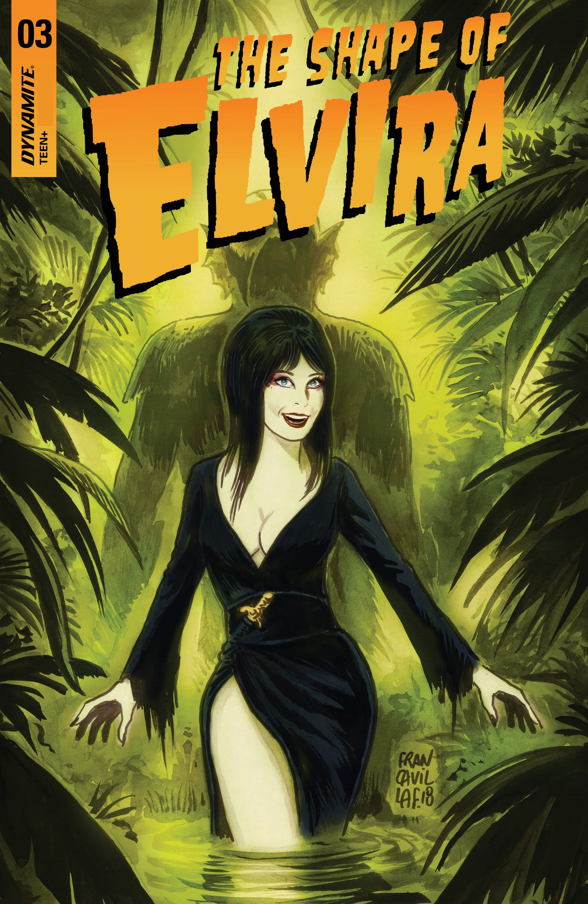 Elvira: The Shape of Elvira 3 Page 1