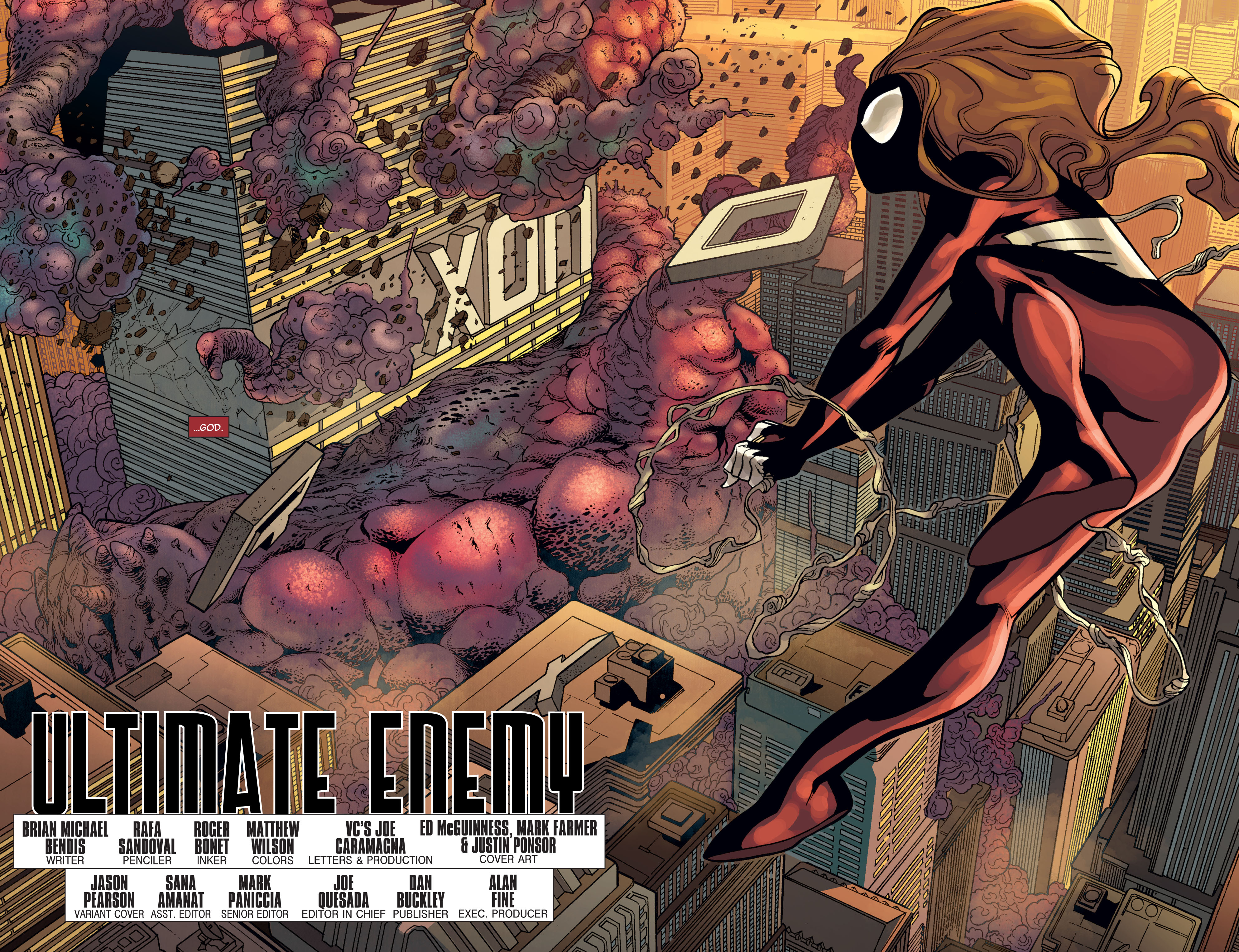 Read online Ultimate Comics Doomsday comic -  Issue # Full - 4